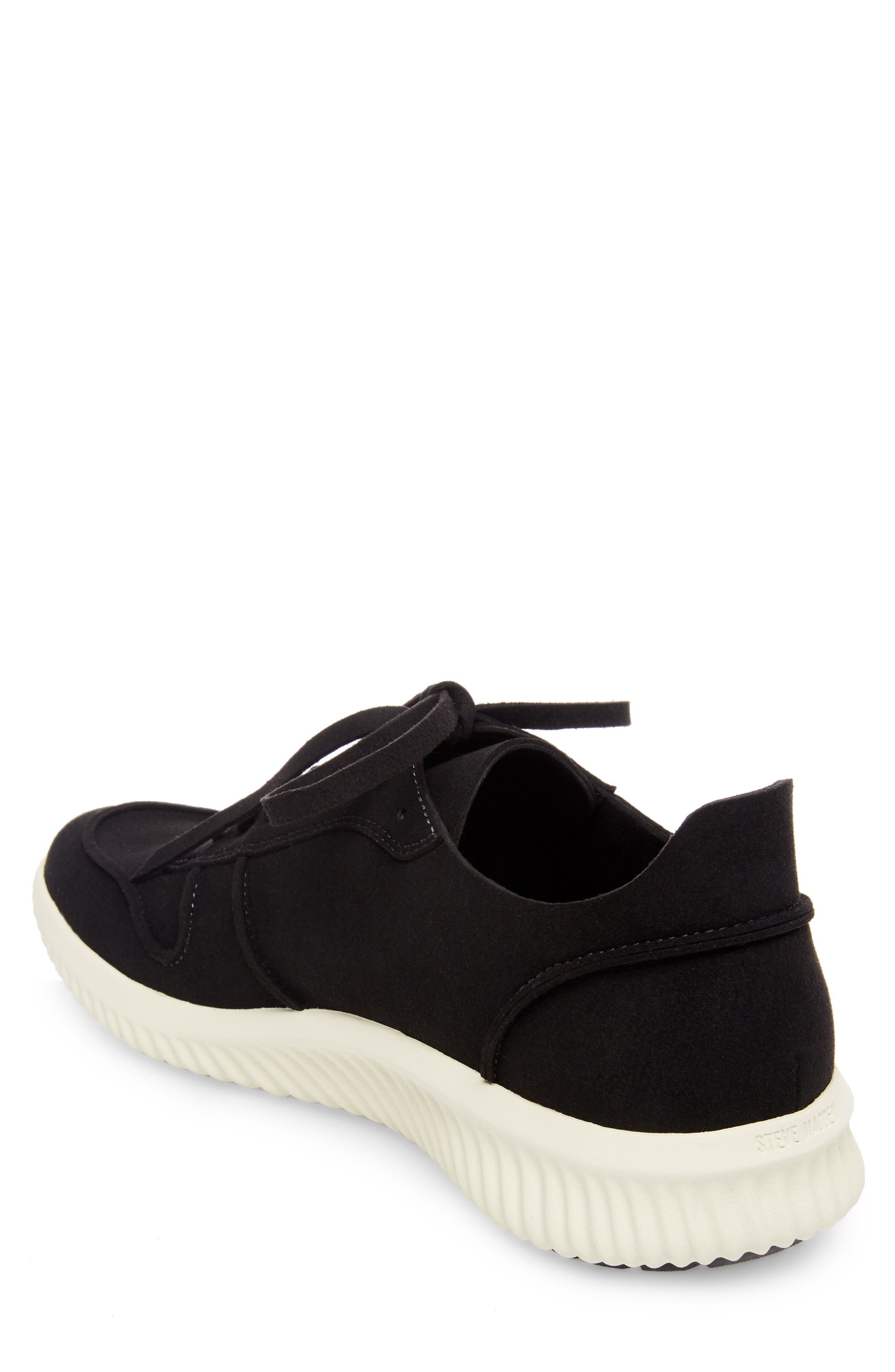 Rolf Low Top Sneaker,                             Alternate thumbnail 2, color,                             BLACK LEATHER