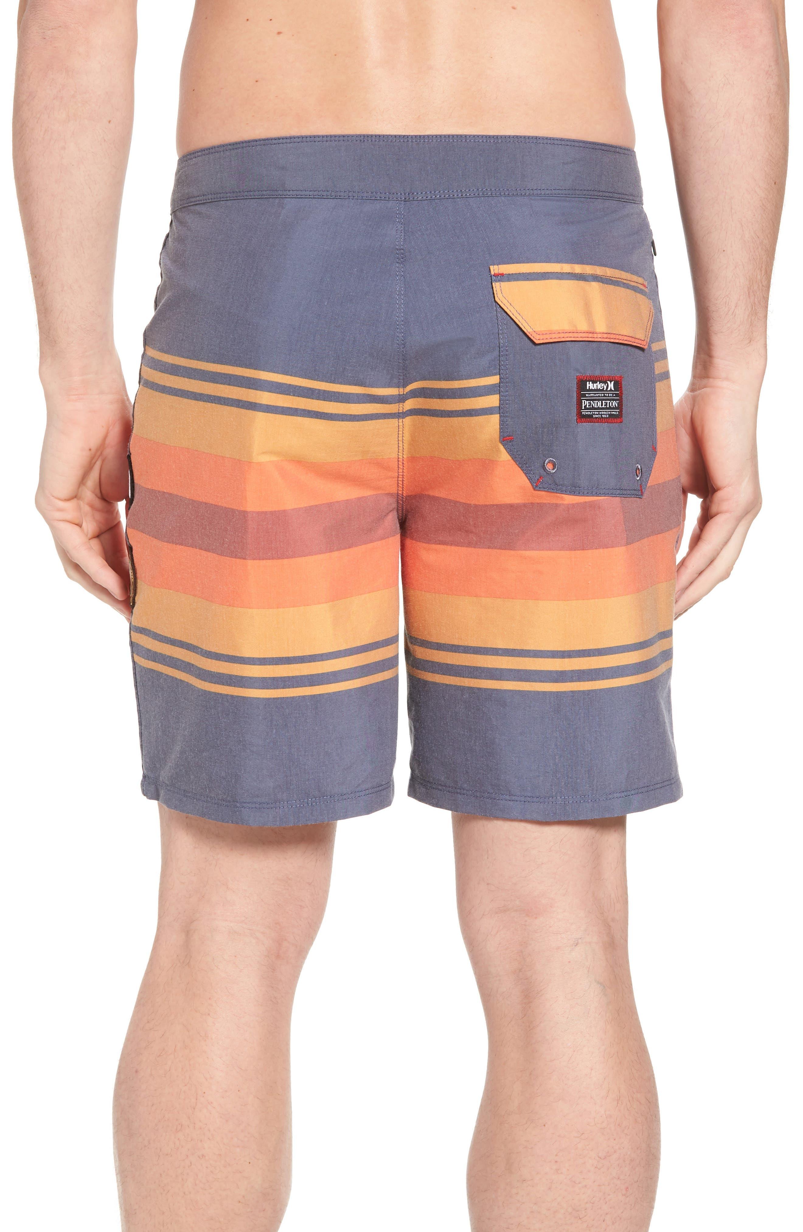 Pendleton Grand Canyon Beachside Board Shorts,                             Alternate thumbnail 2, color,