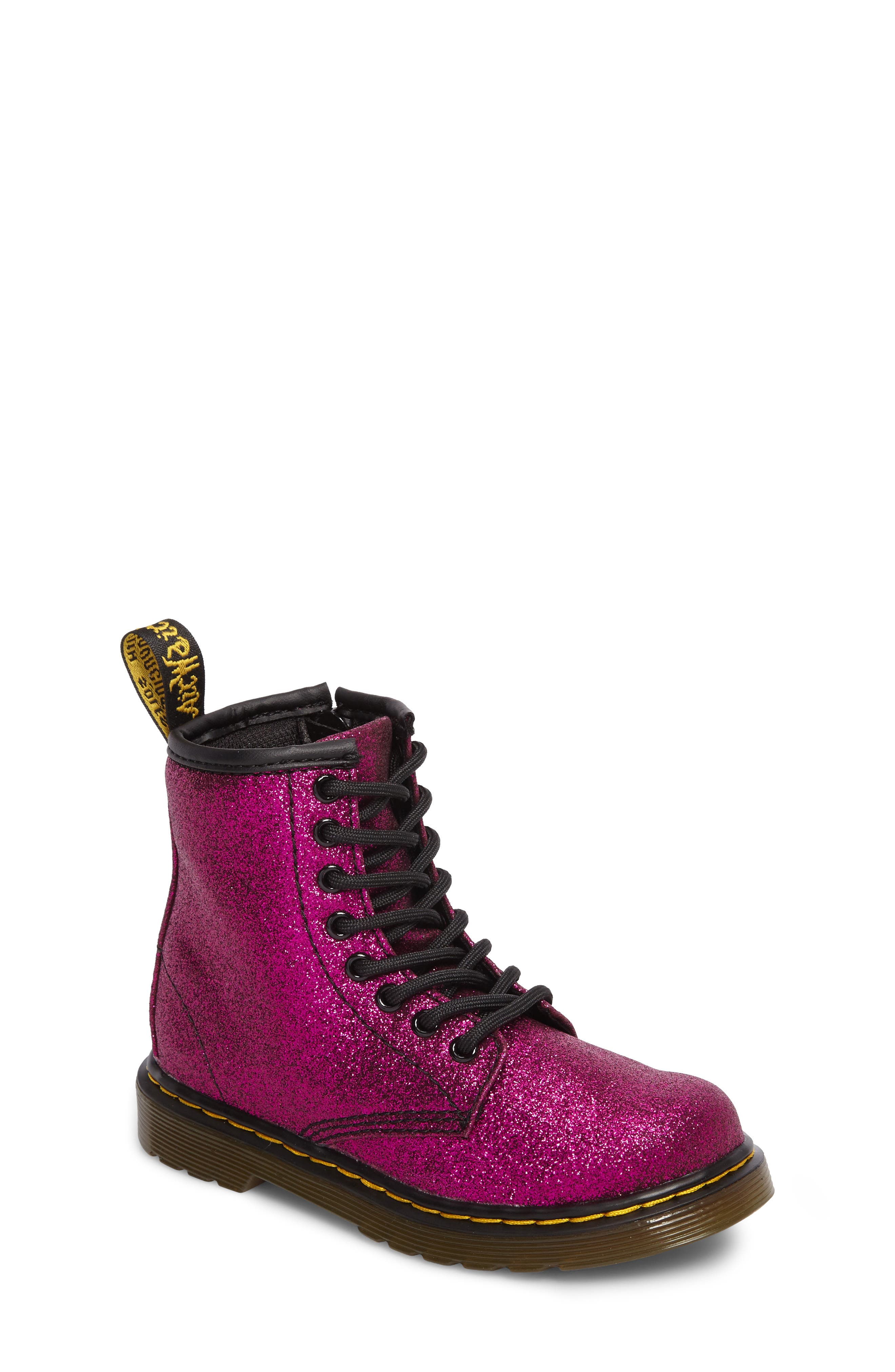 Delaney Glitter Boot,                             Main thumbnail 2, color,