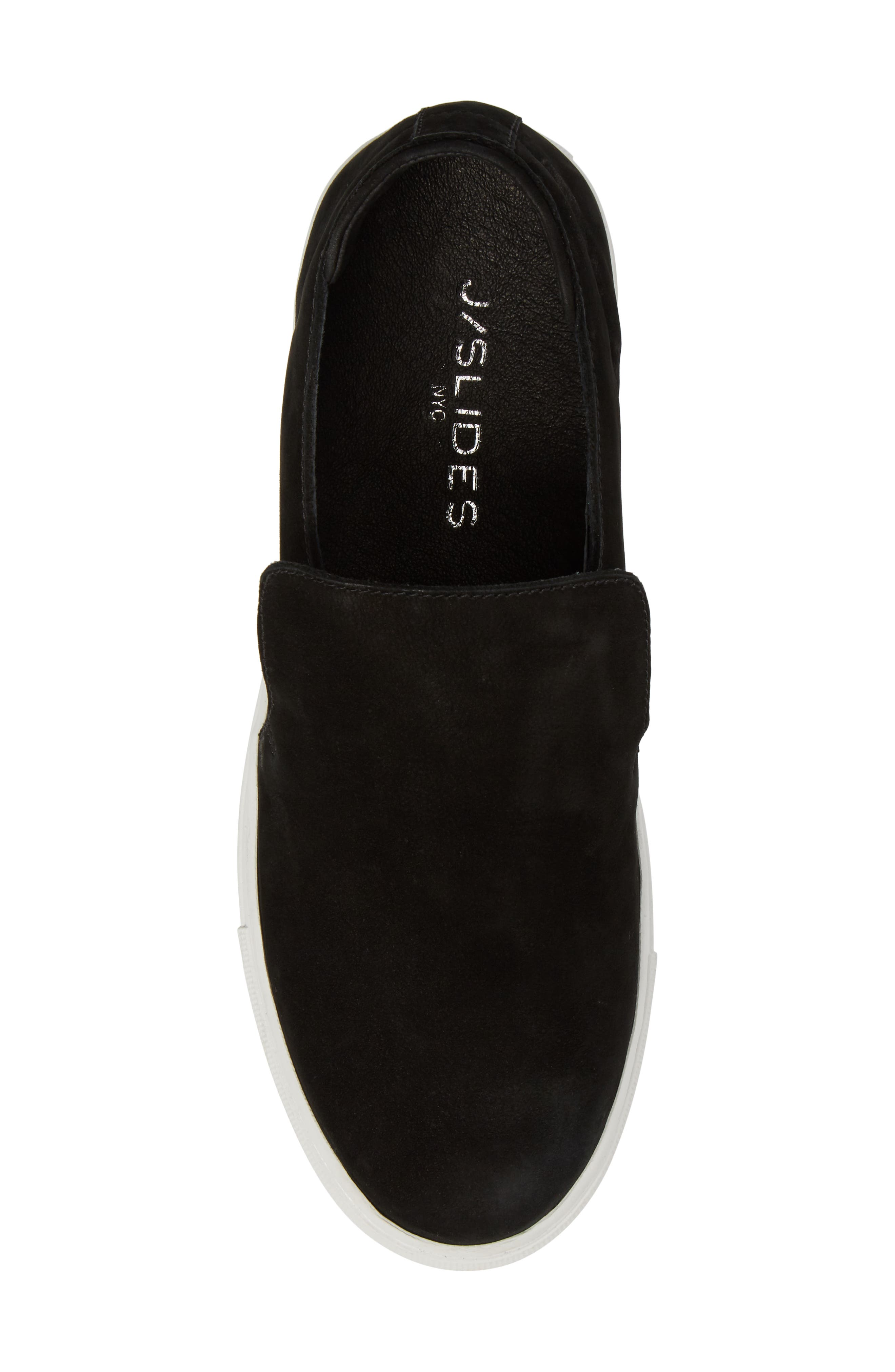 Perrie Platform Slip-On,                             Alternate thumbnail 5, color,                             001