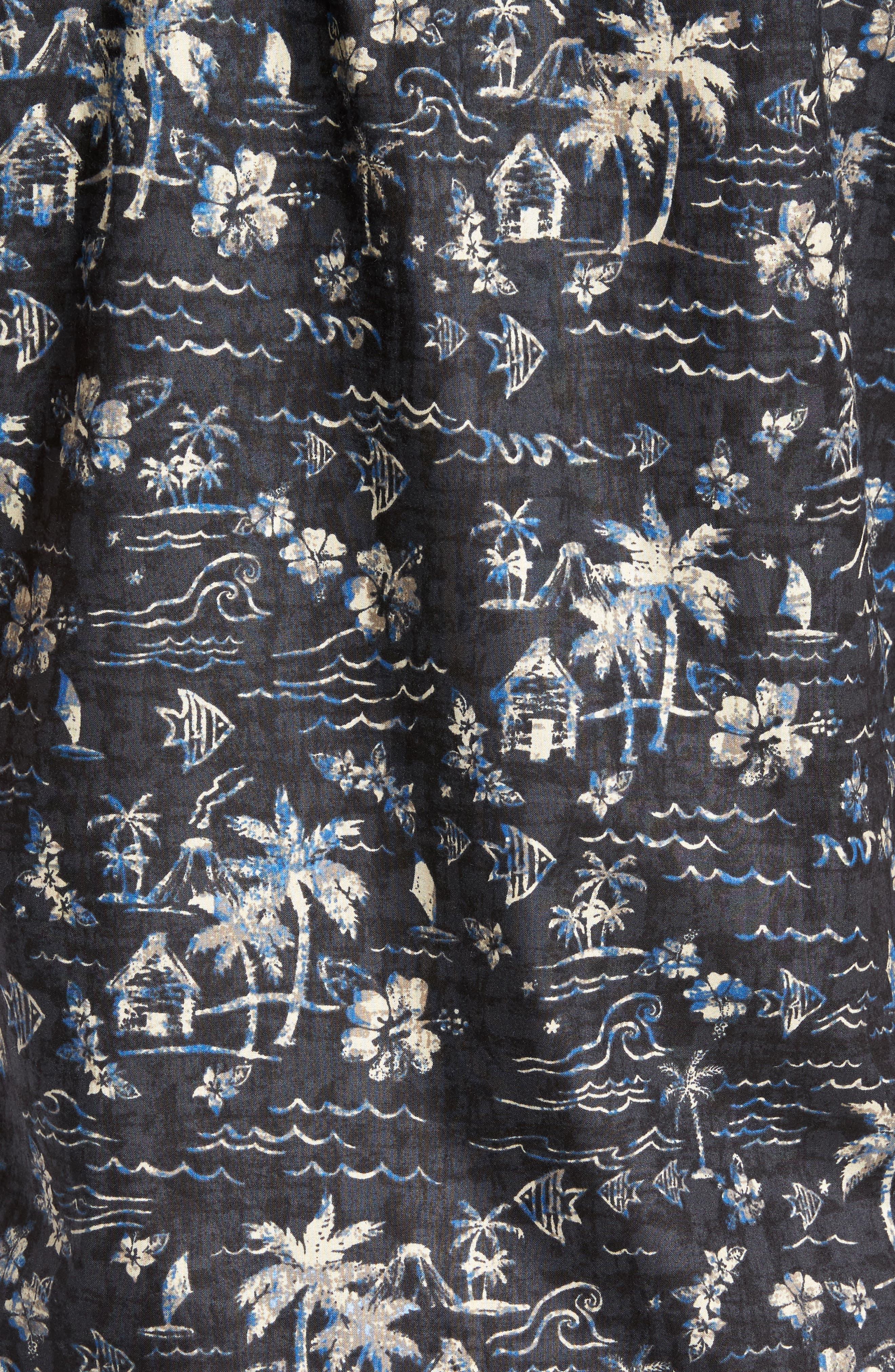 Smallville Regular Fit Print Sport Shirt,                             Alternate thumbnail 5, color,                             001