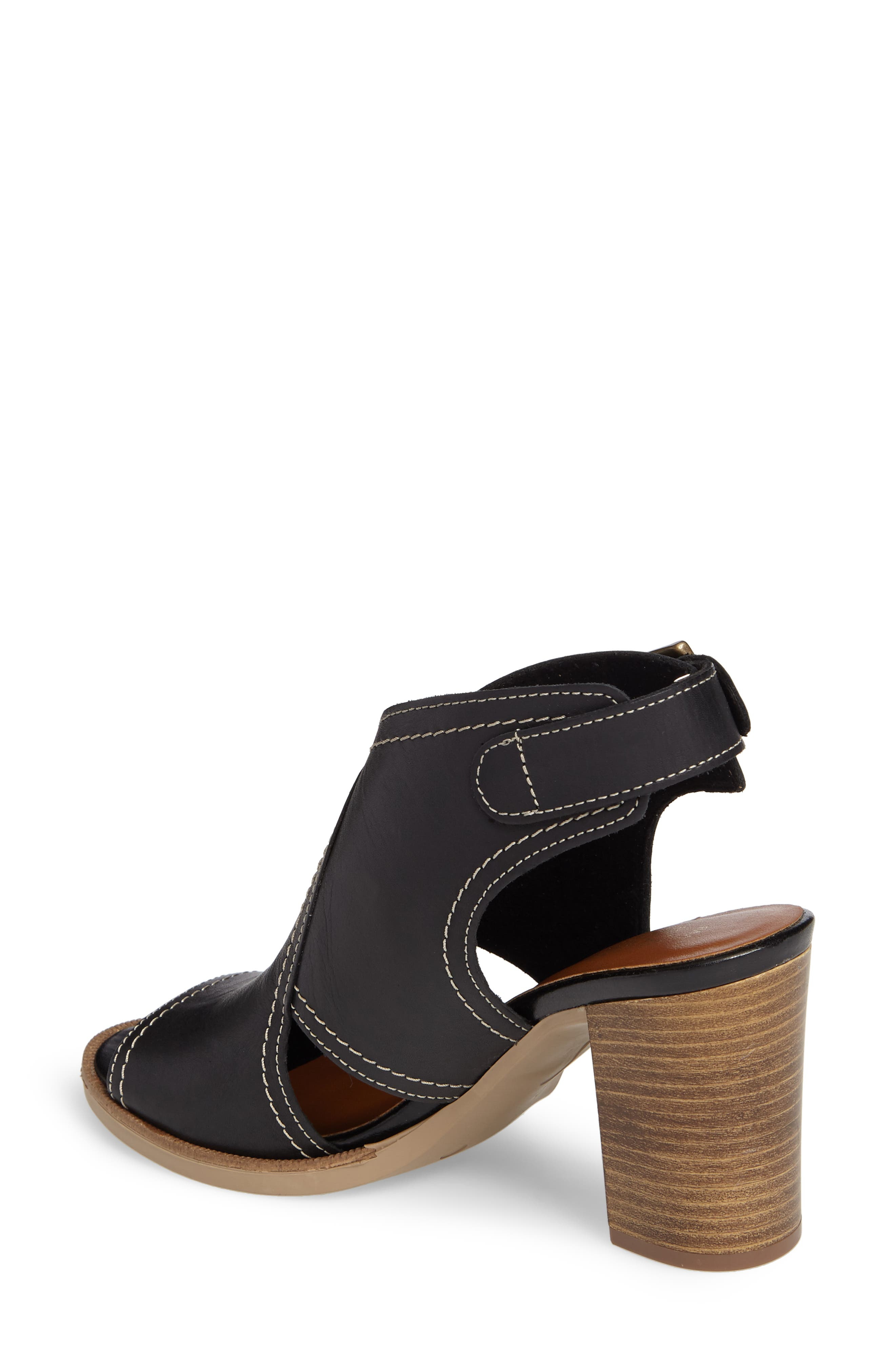 Viv Block Heel Sandal,                             Alternate thumbnail 2, color,                             001