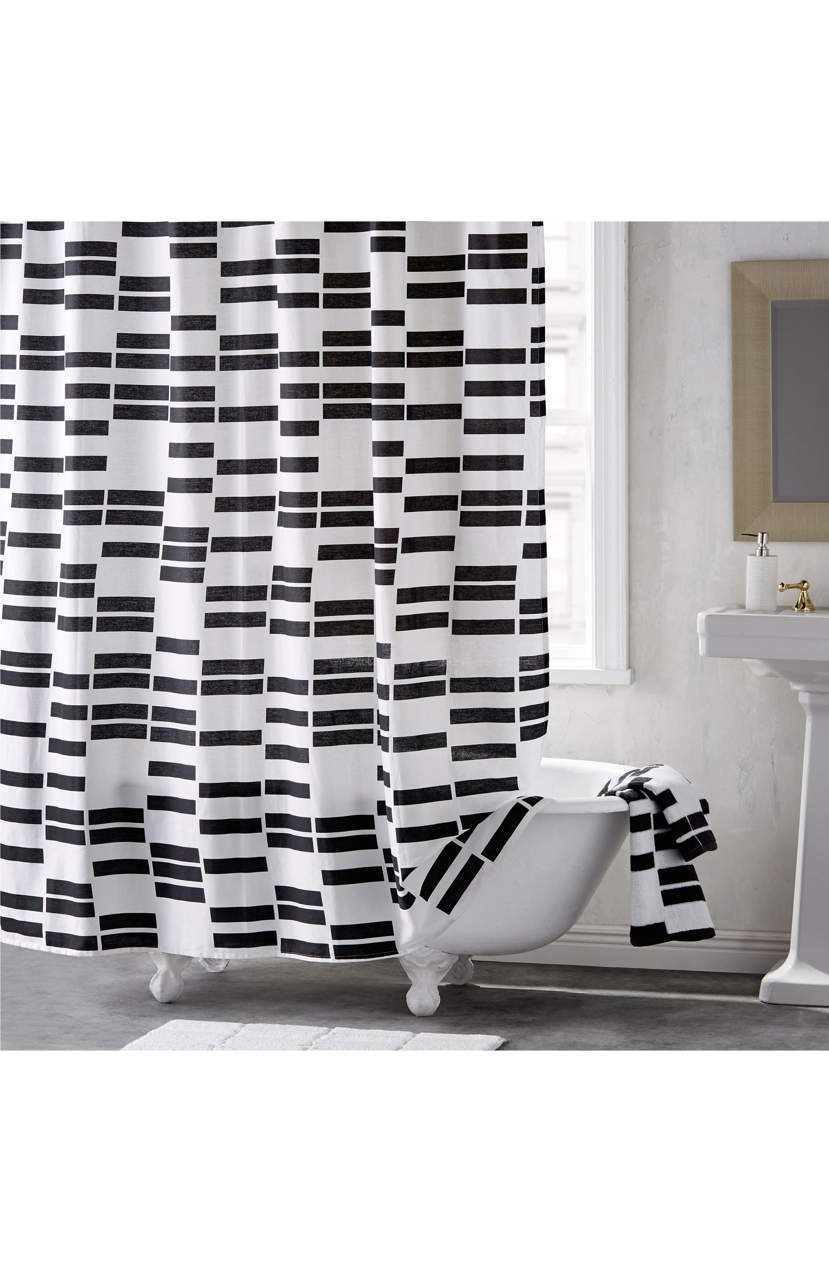 High Rise Shower Curtain,                         Main,                         color, 001