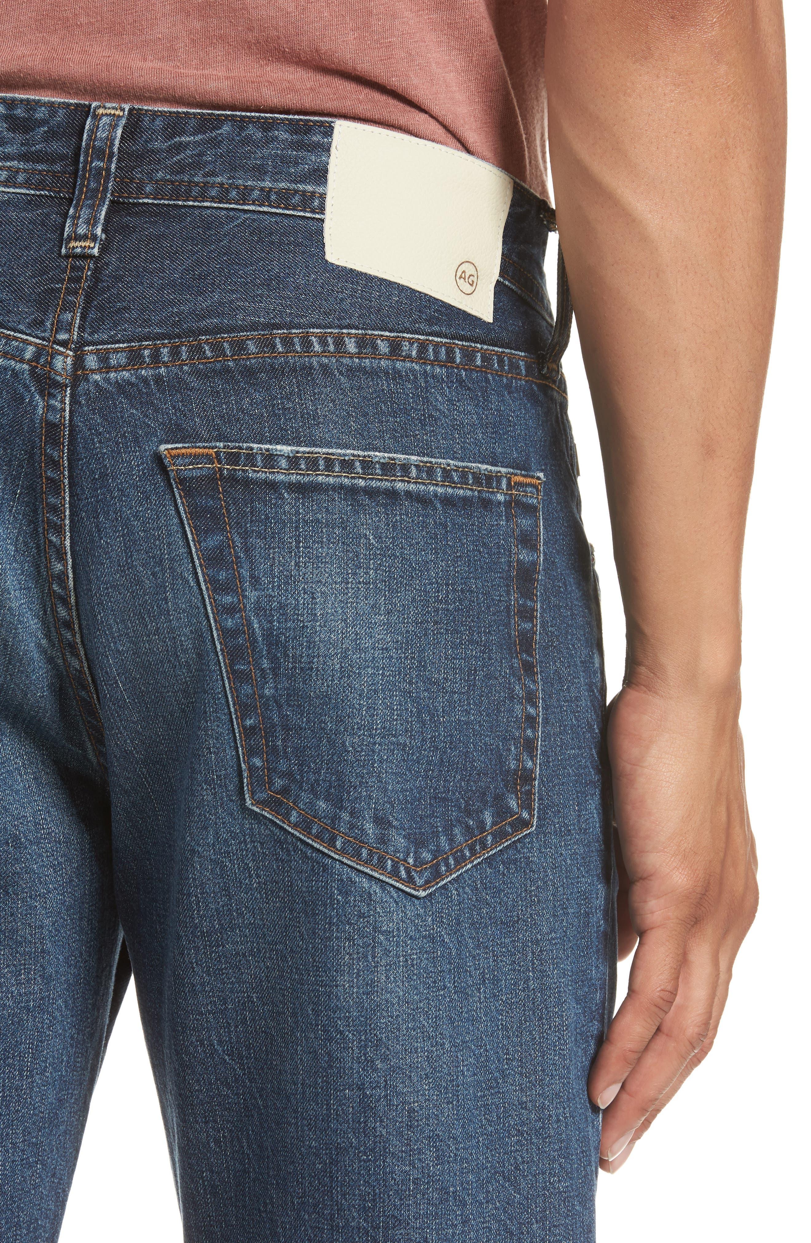 Turner Crop Jeans,                             Alternate thumbnail 4, color,                             5 YEARS WAYFARER