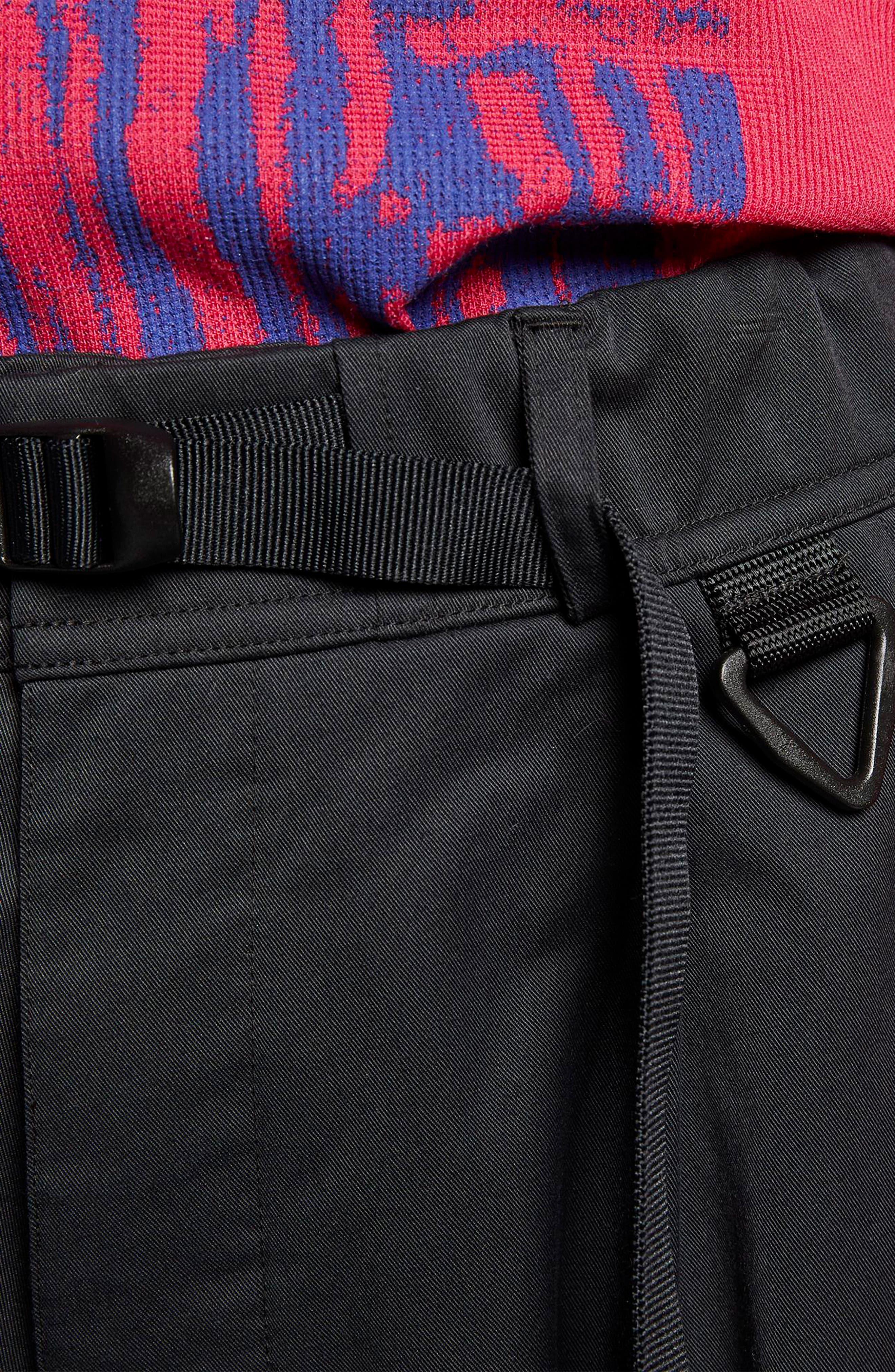 ACG Men's Cargo Pants,                             Alternate thumbnail 8, color,                             BLACK