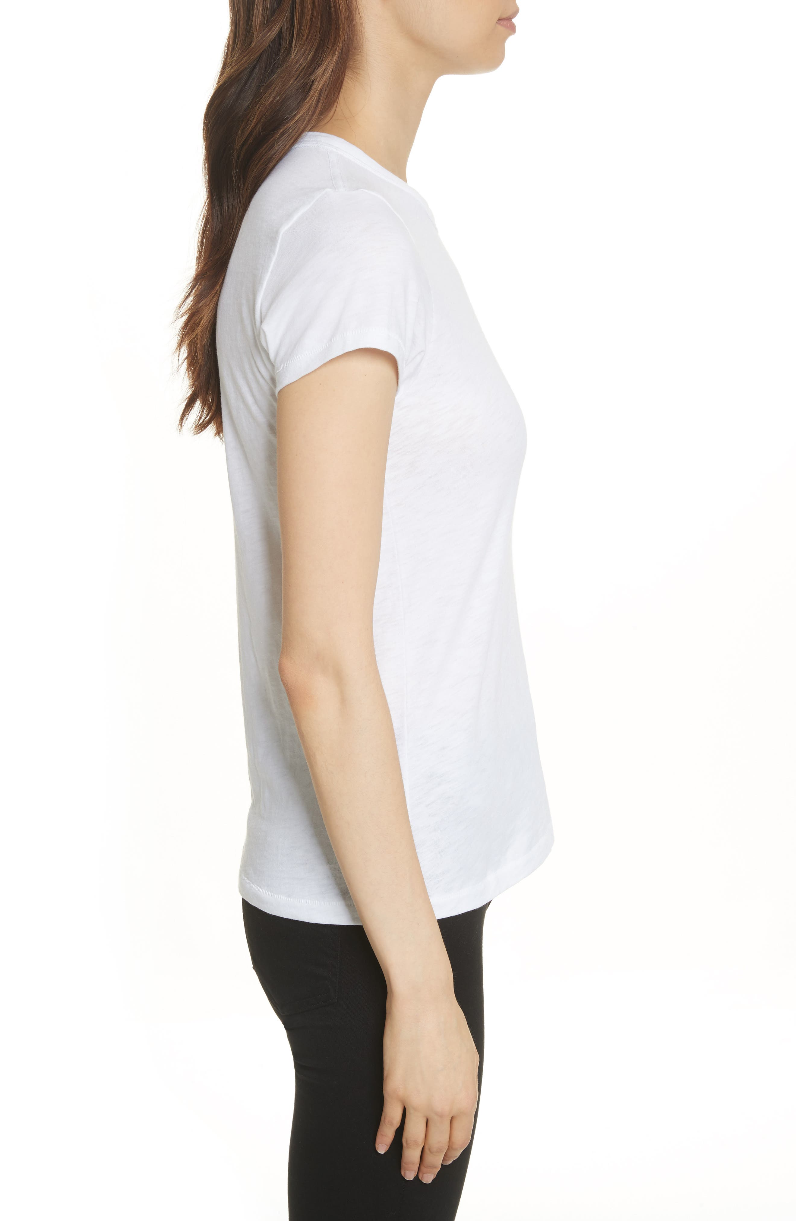 The Tee,                             Alternate thumbnail 3, color,                             BRIGHT WHITE