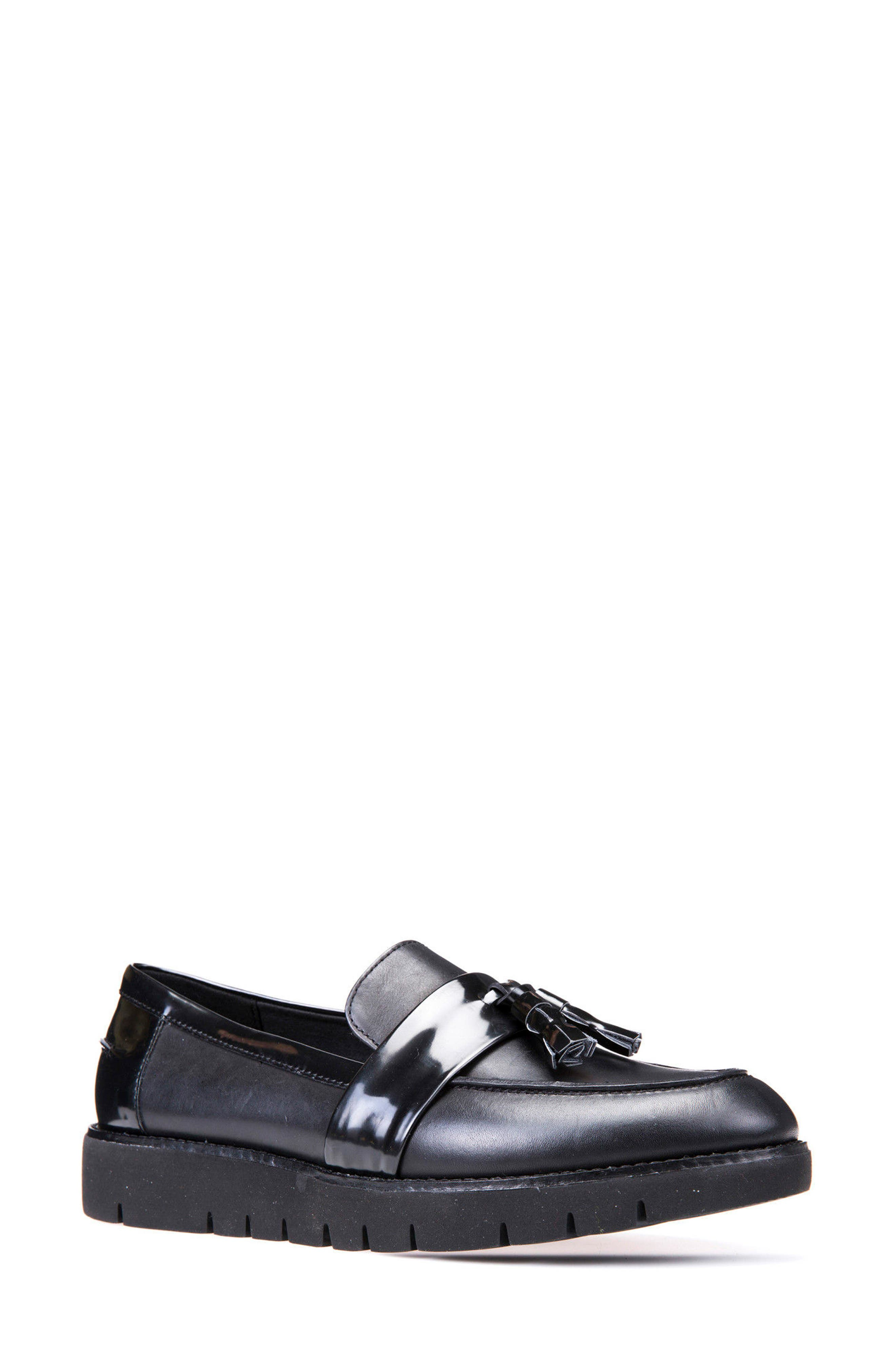 Blenda Tassel Loafer,                             Main thumbnail 1, color,                             001