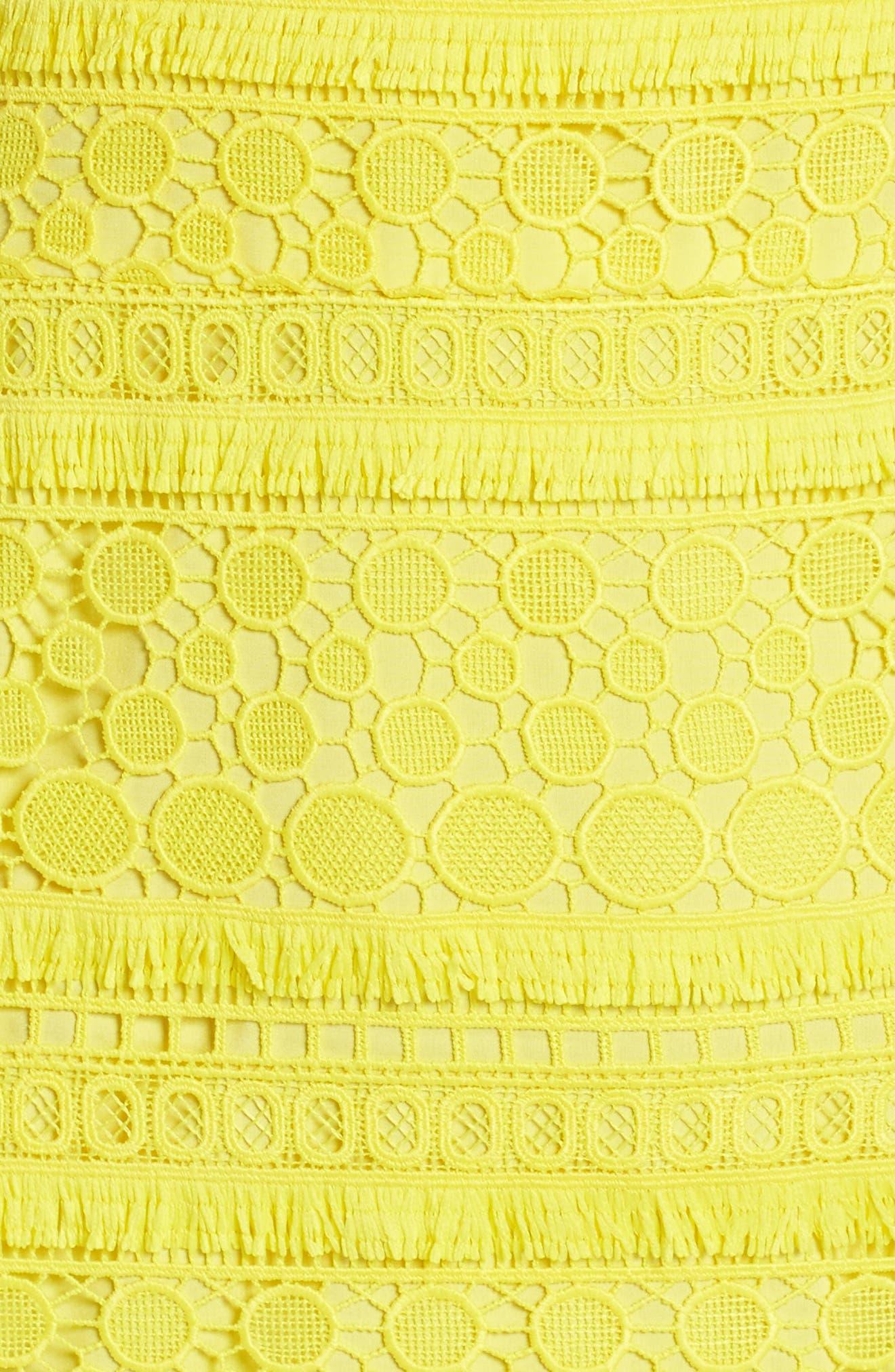Lace Sheath Dress,                             Alternate thumbnail 5, color,                             737