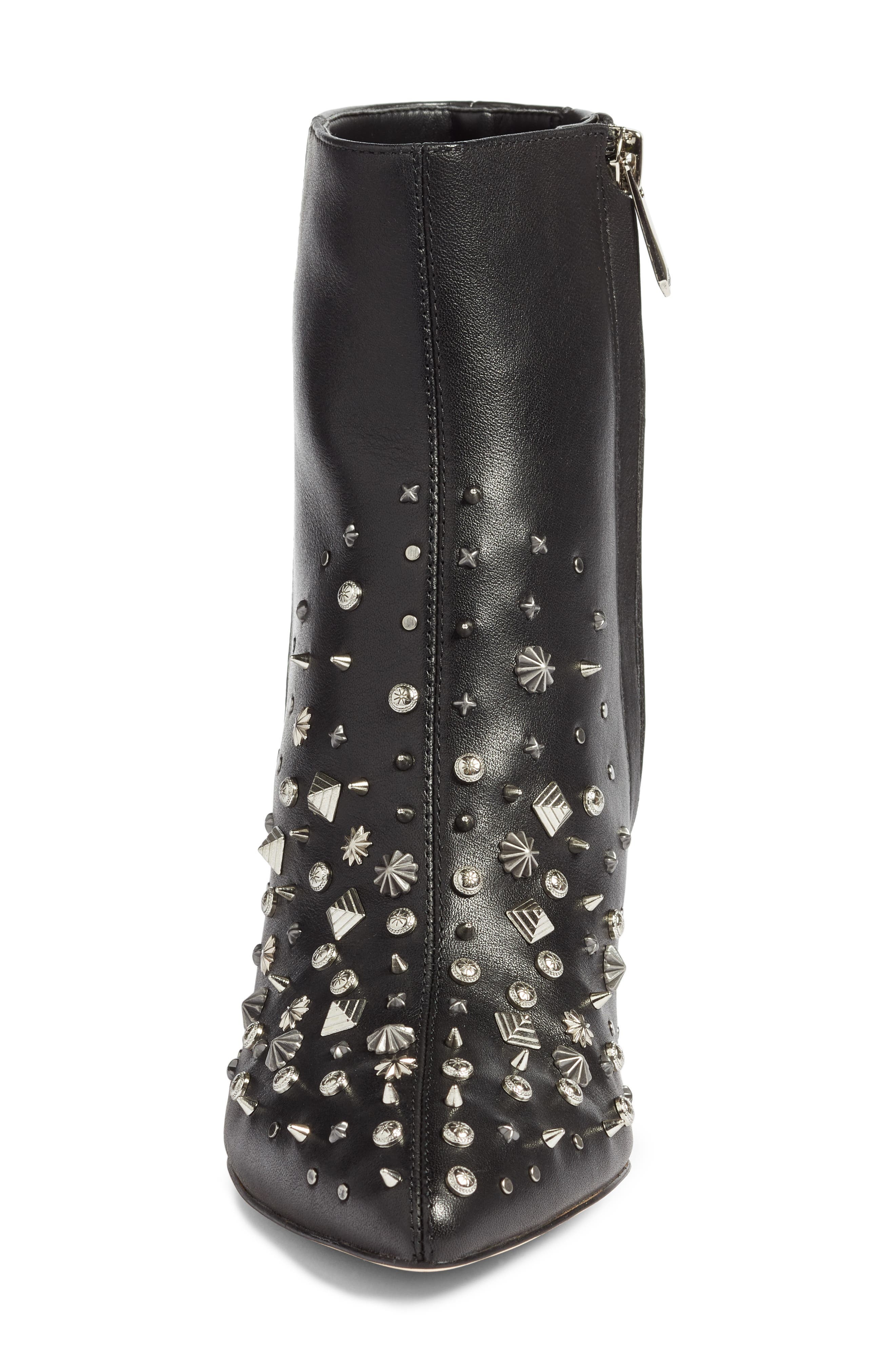 Hal Studded Bootie,                             Alternate thumbnail 4, color,                             001