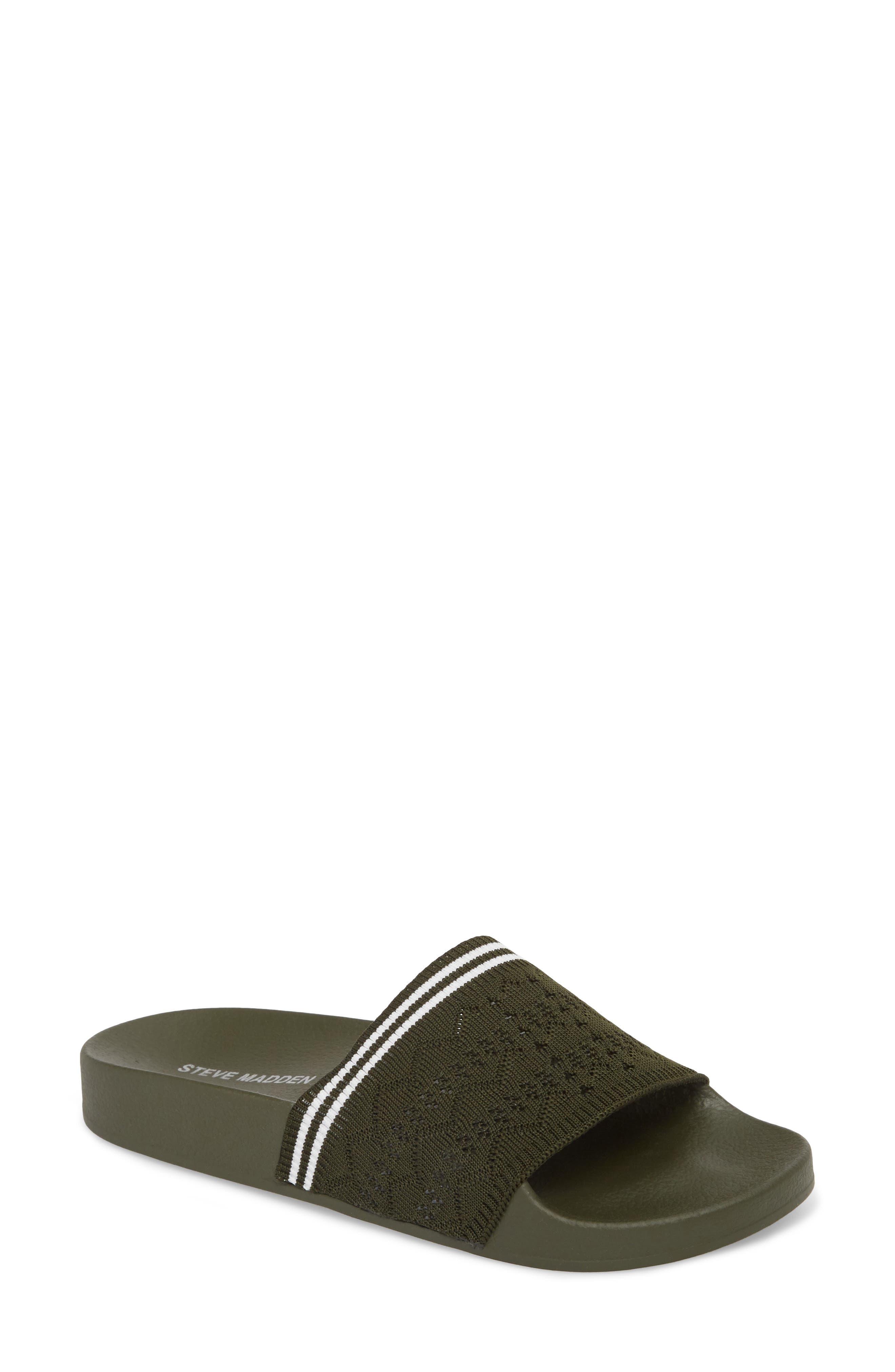 Vibe Sock Knit Slide Sandal,                             Main thumbnail 2, color,