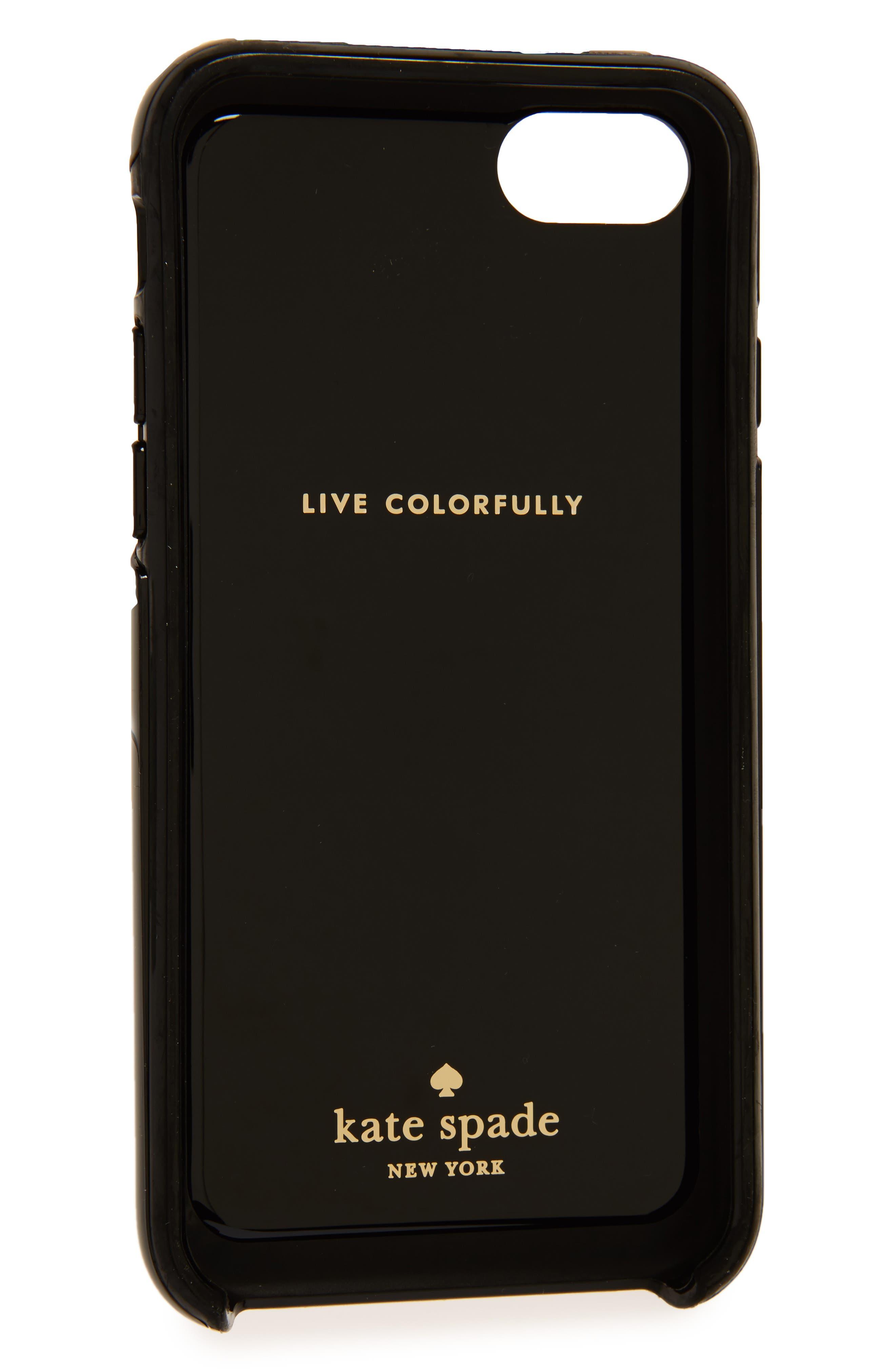 larabee dot iPhone 7 & 7 Plus case,                             Alternate thumbnail 2, color,                             002