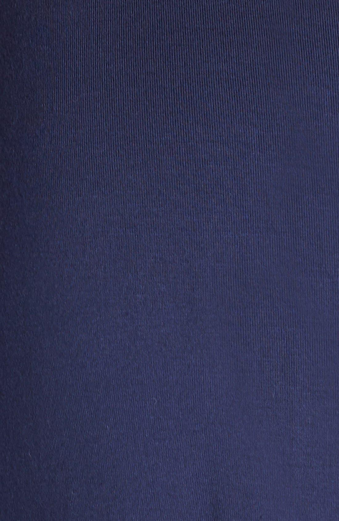 'Tallulah' Maternity Jersey Robe,                             Alternate thumbnail 7, color,