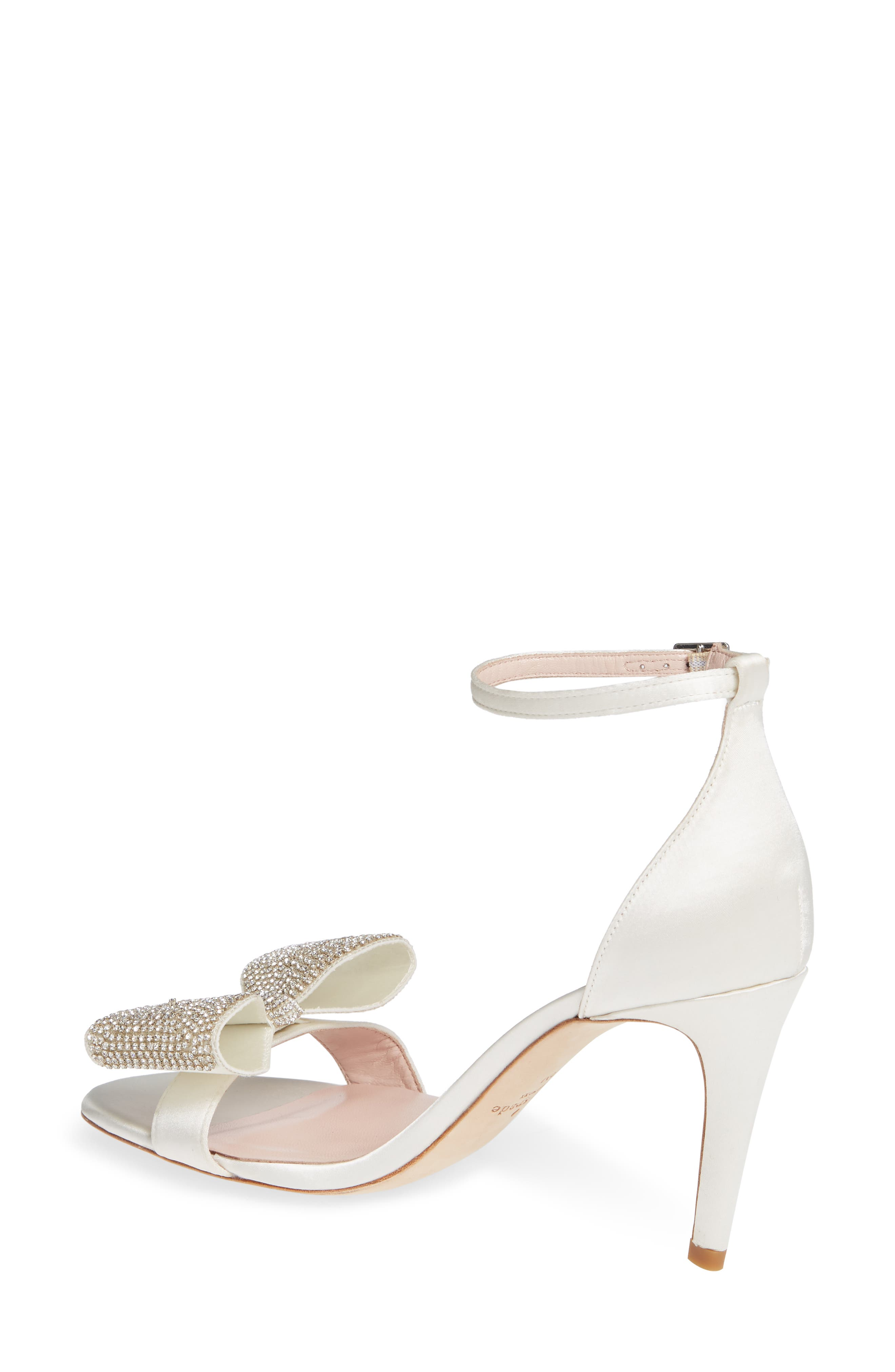 gweneth crystal bow ankle strap sandal,                             Alternate thumbnail 2, color,                             900