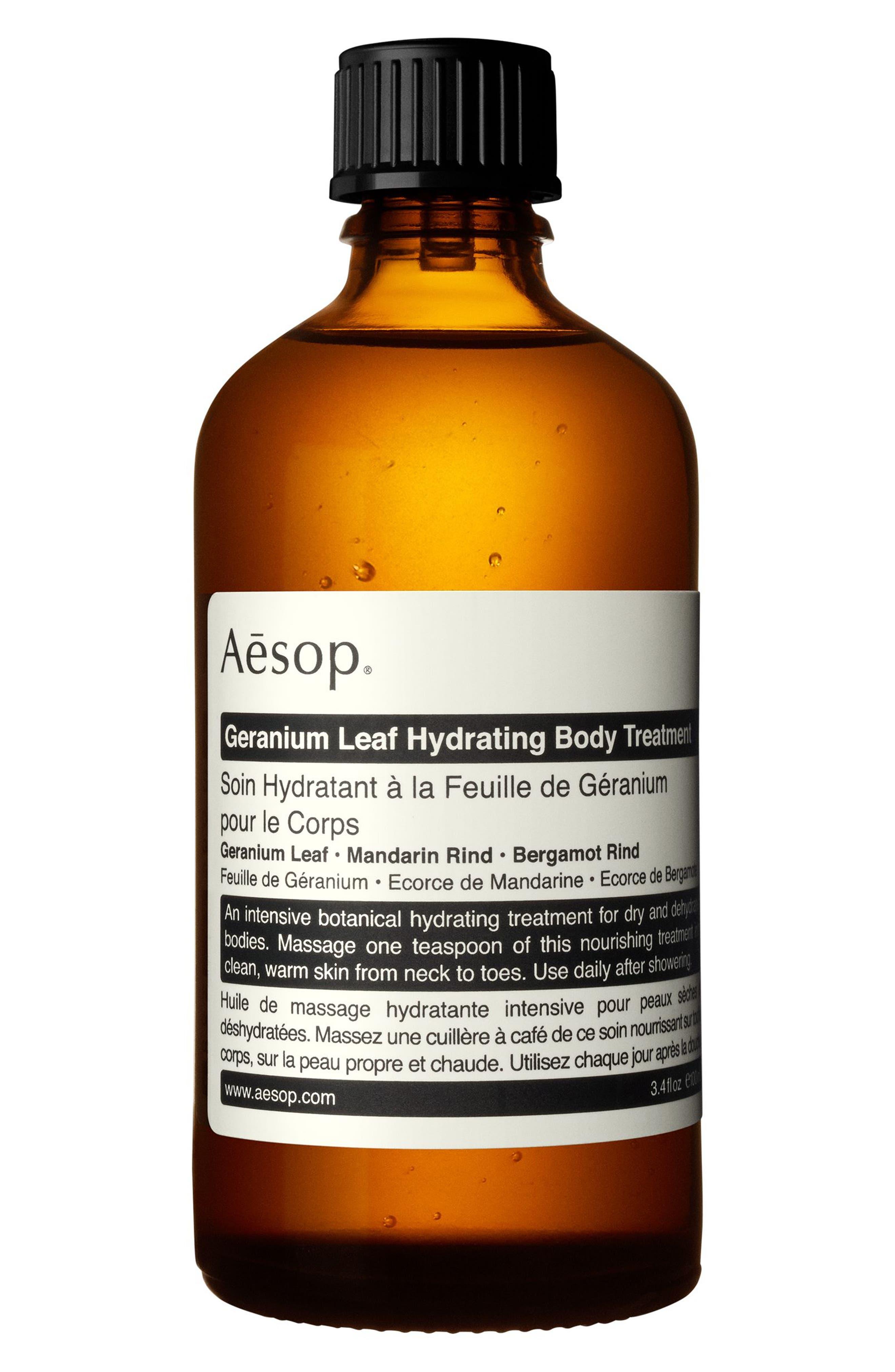 Geranium Leaf Hydrating Body Treatment,                             Main thumbnail 1, color,                             NONE