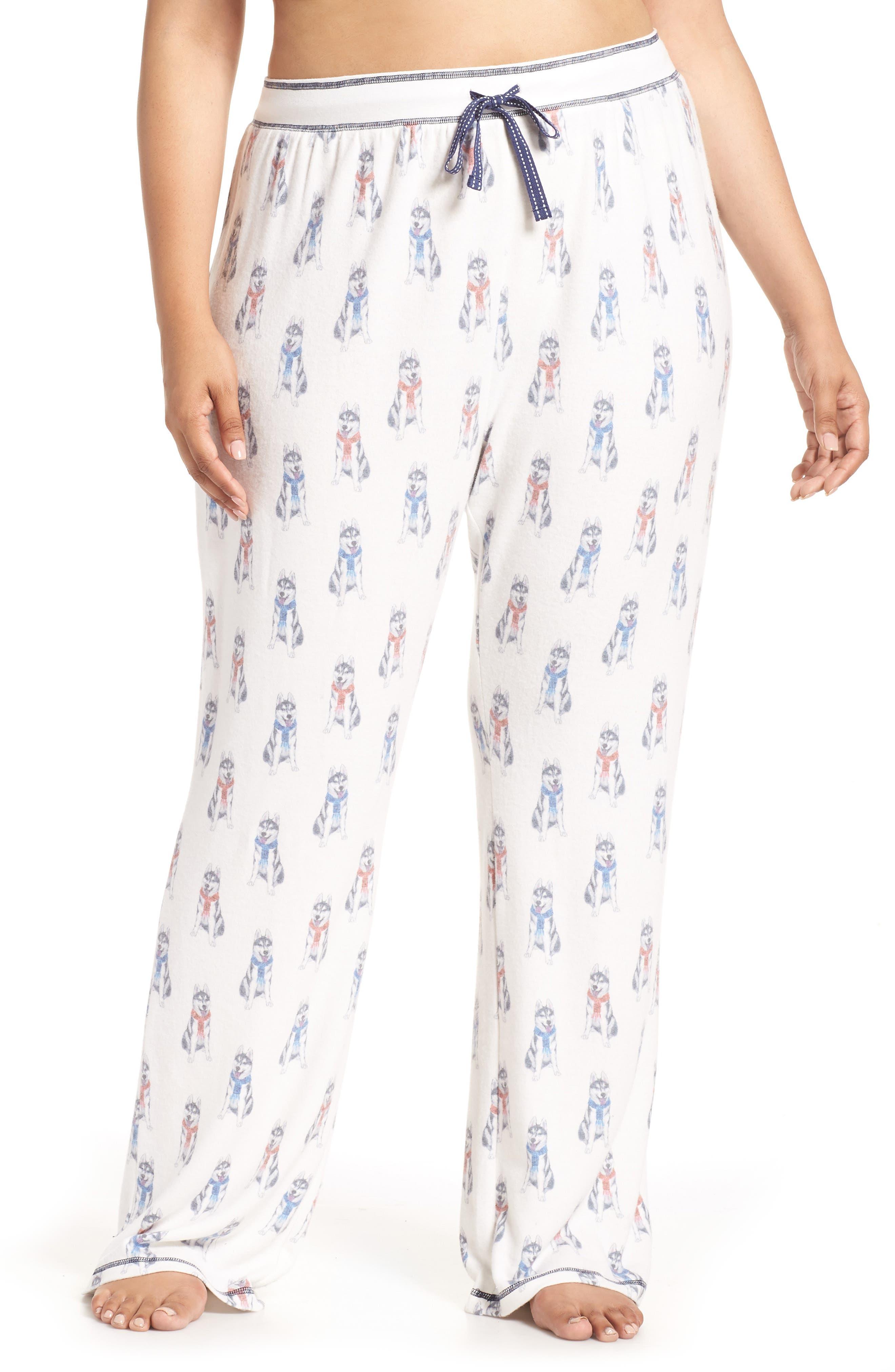 Winter Escape Lounge Pants, Main, color, 905