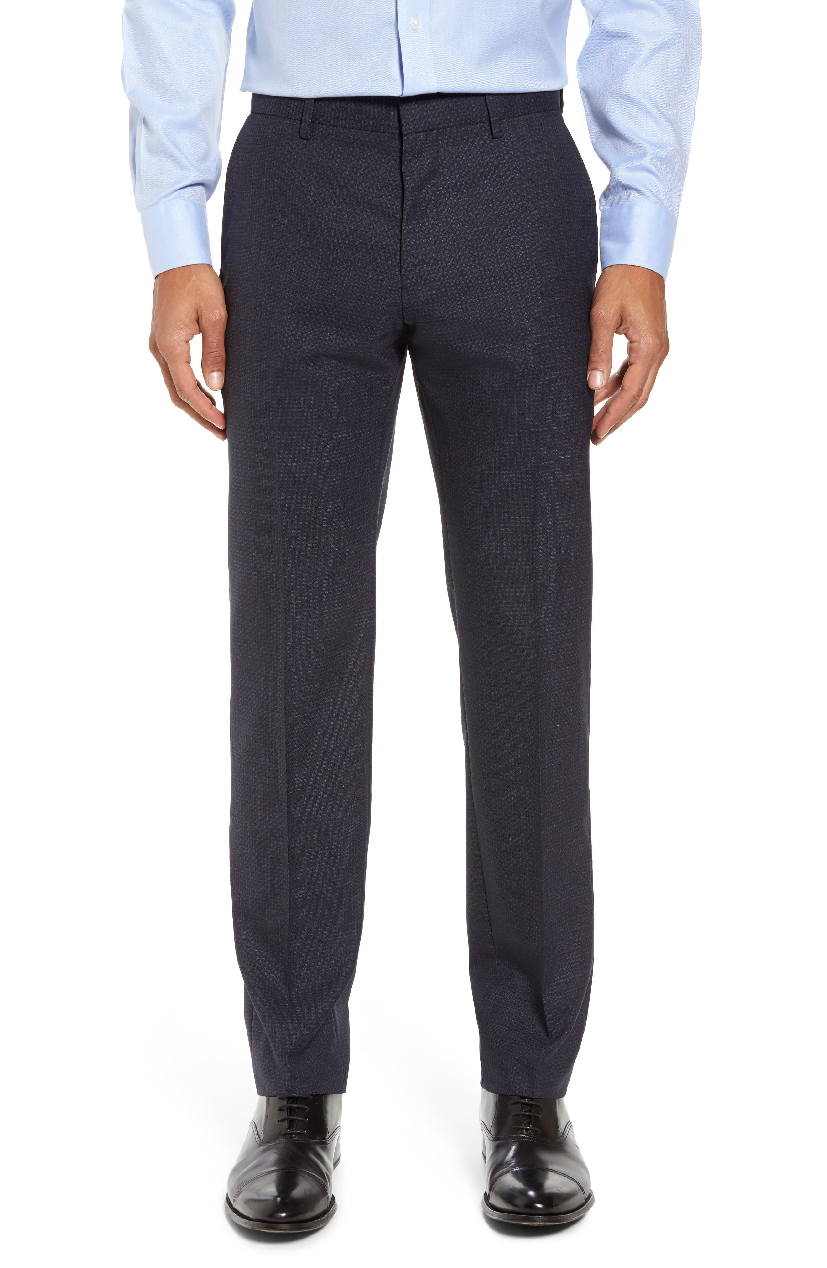 Johnstons/Lenon Classic Fit Check Wool Suit,                             Alternate thumbnail 6, color,                             409