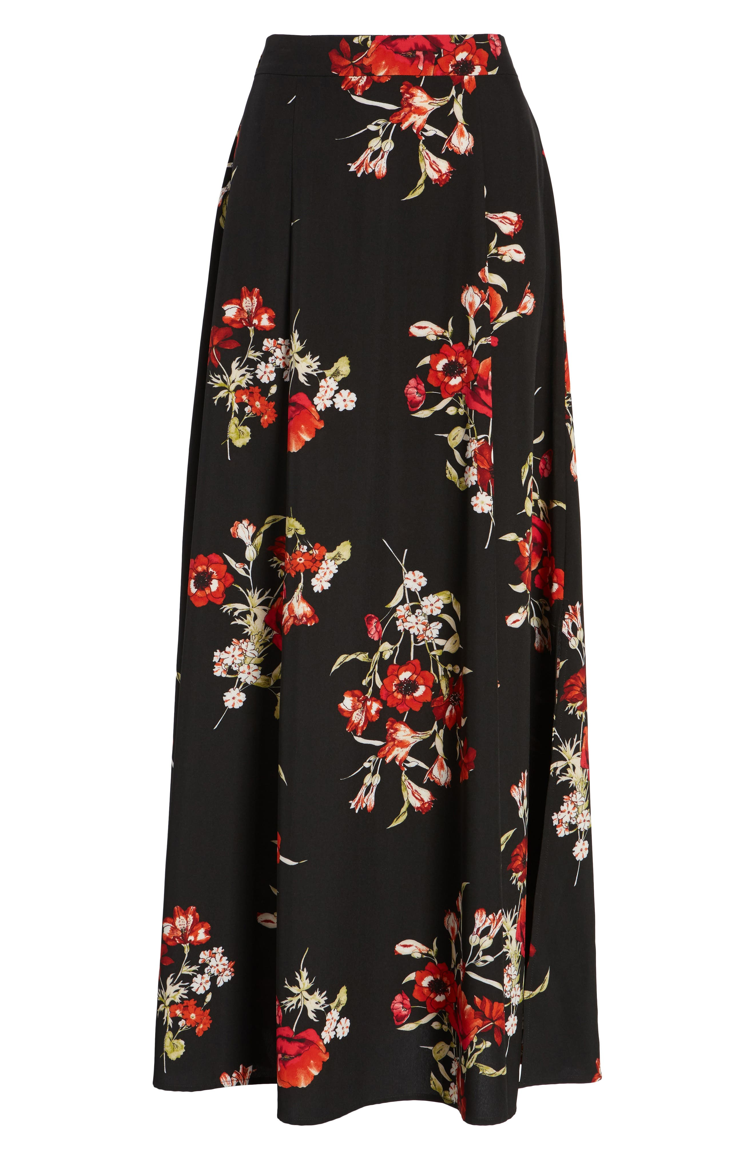 Maxi Skirt,                             Alternate thumbnail 6, color,                             002