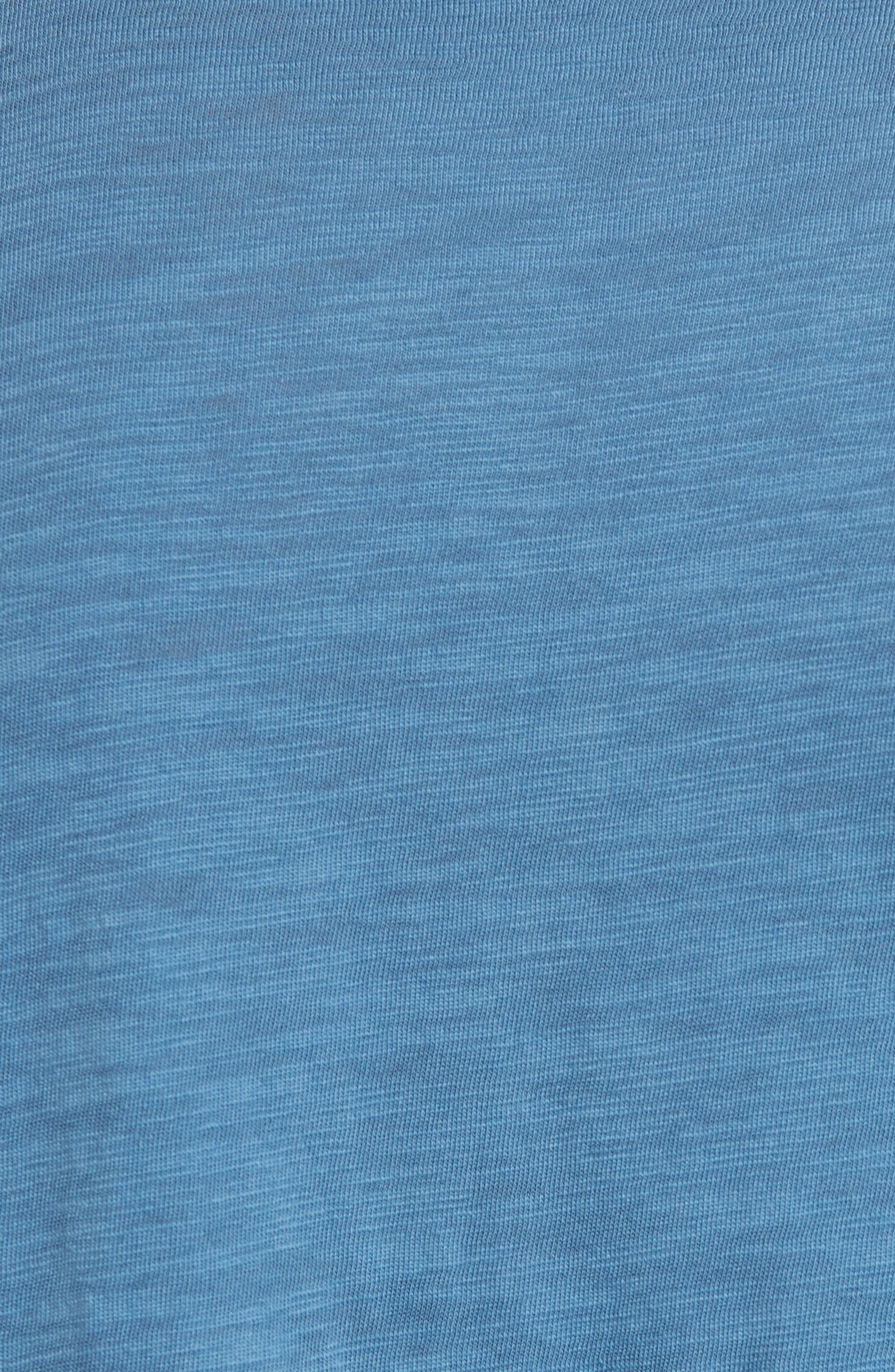 Slim Fit Slub V-Neck T-Shirt,                             Alternate thumbnail 9, color,