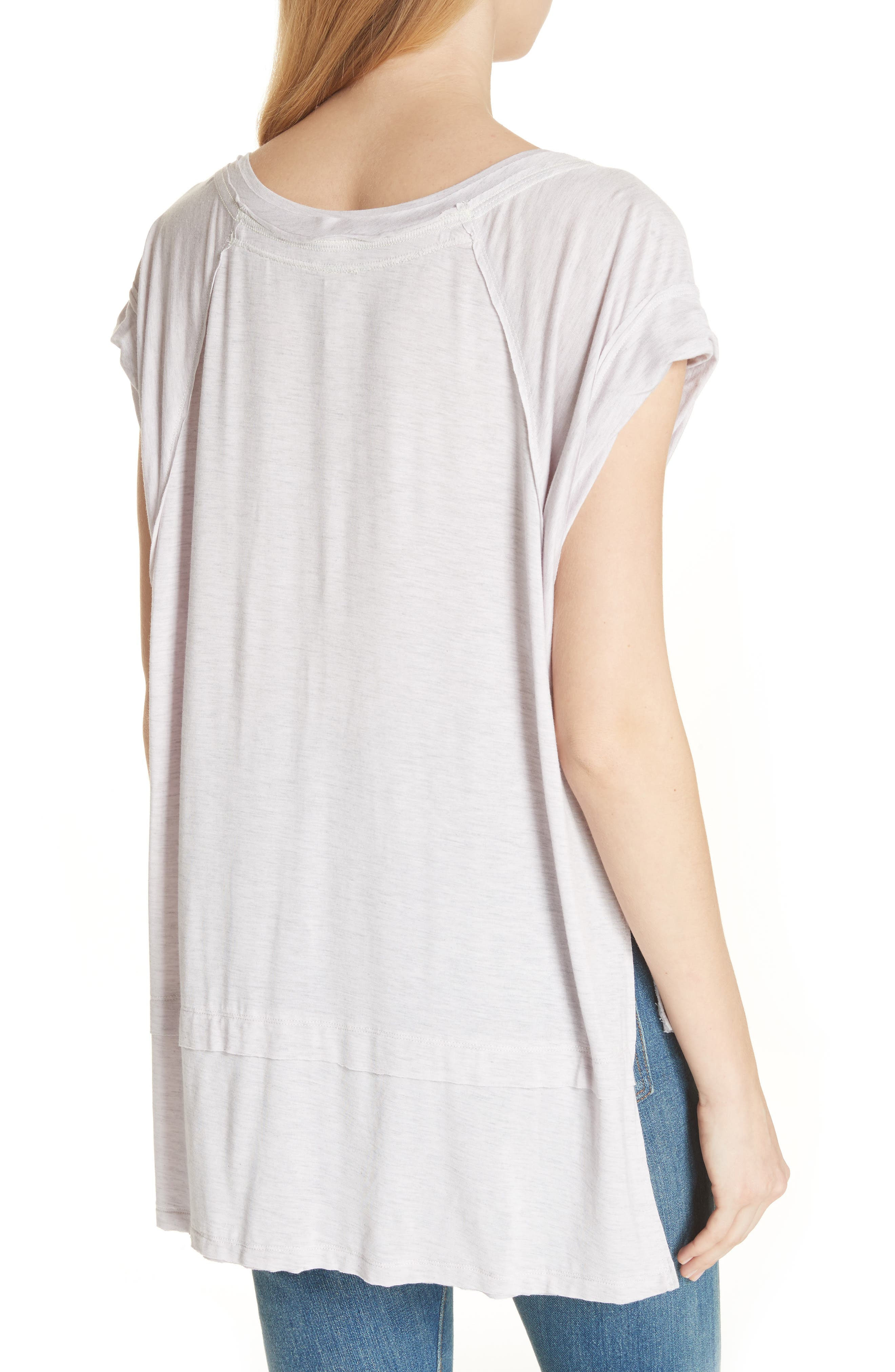 We the Free by Free People Voyage Tee,                             Alternate thumbnail 9, color,