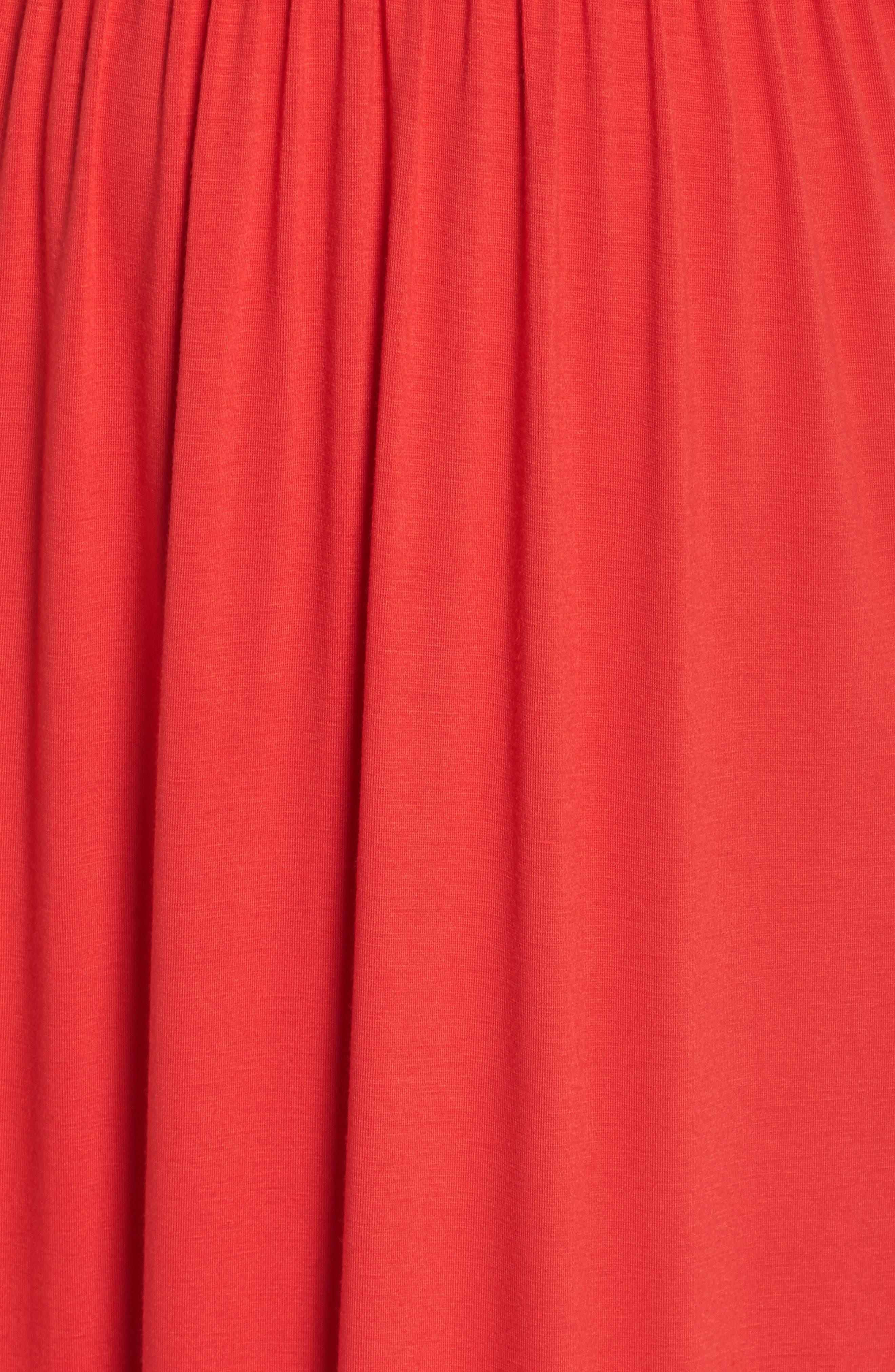 Knit Maxi Dress,                             Alternate thumbnail 21, color,