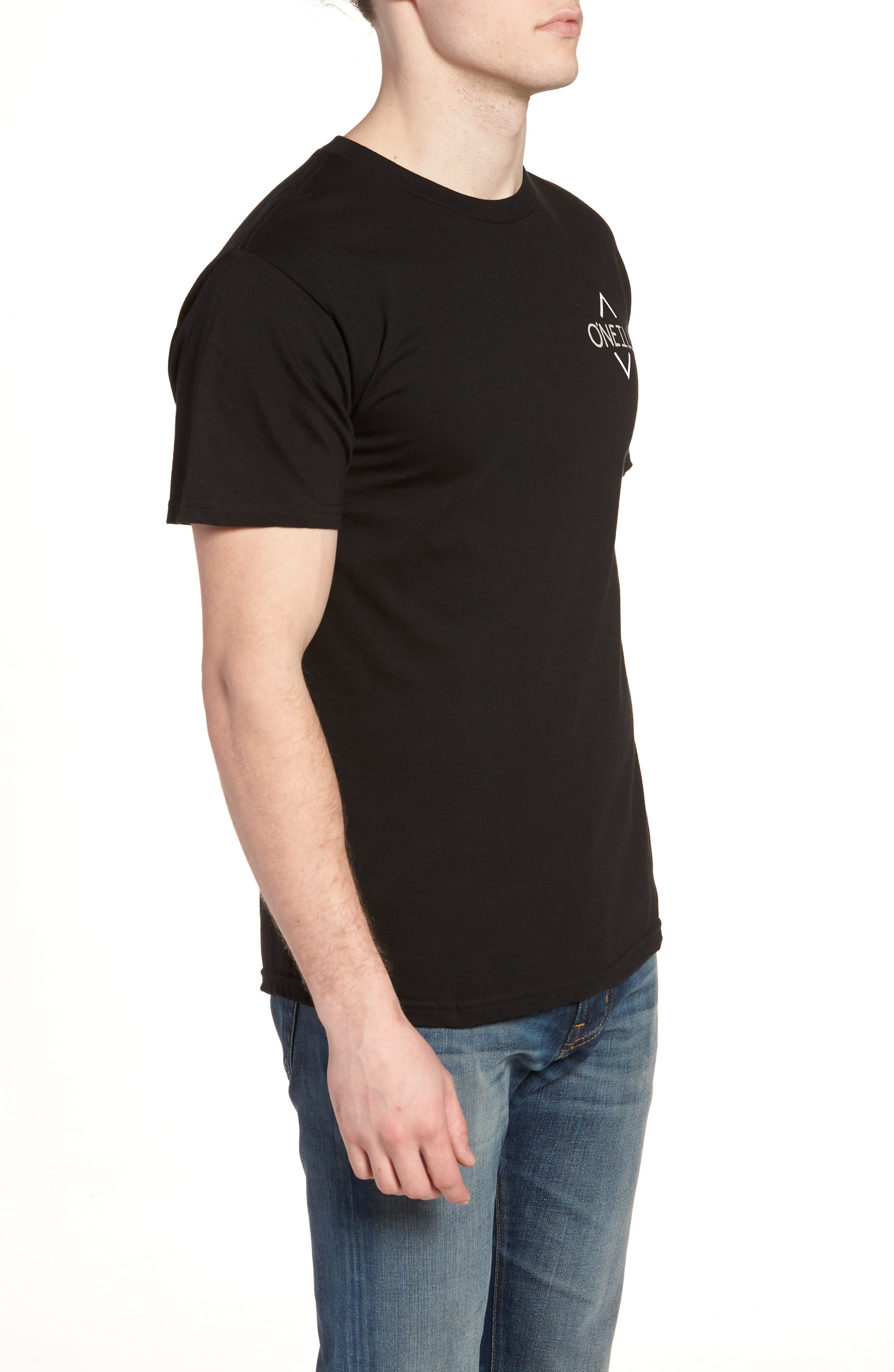 Fisher Graphic T-Shirt,                             Alternate thumbnail 3, color,                             001