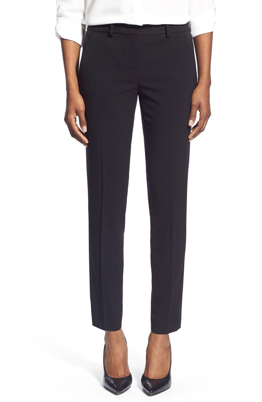 Marlena Ankle Pants,                         Main,                         color, 001