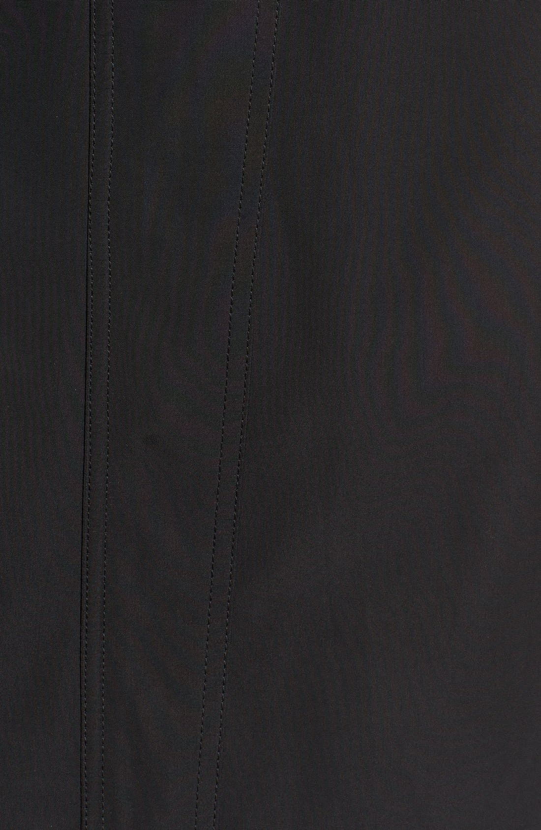 Hooded Trench Coat,                             Alternate thumbnail 5, color,                             001