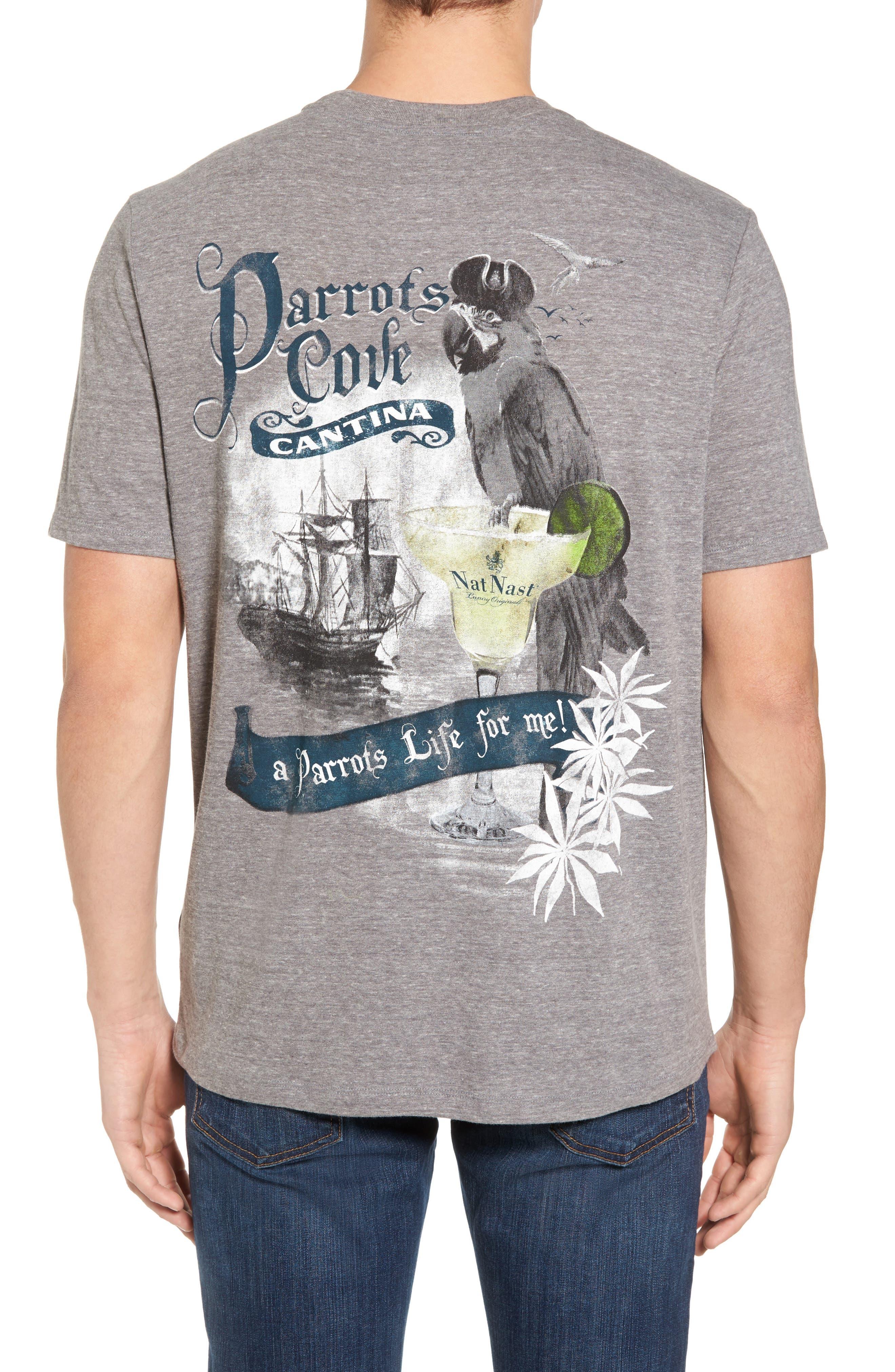 Parrots Cove Graphic T-Shirt,                             Alternate thumbnail 2, color,                             022