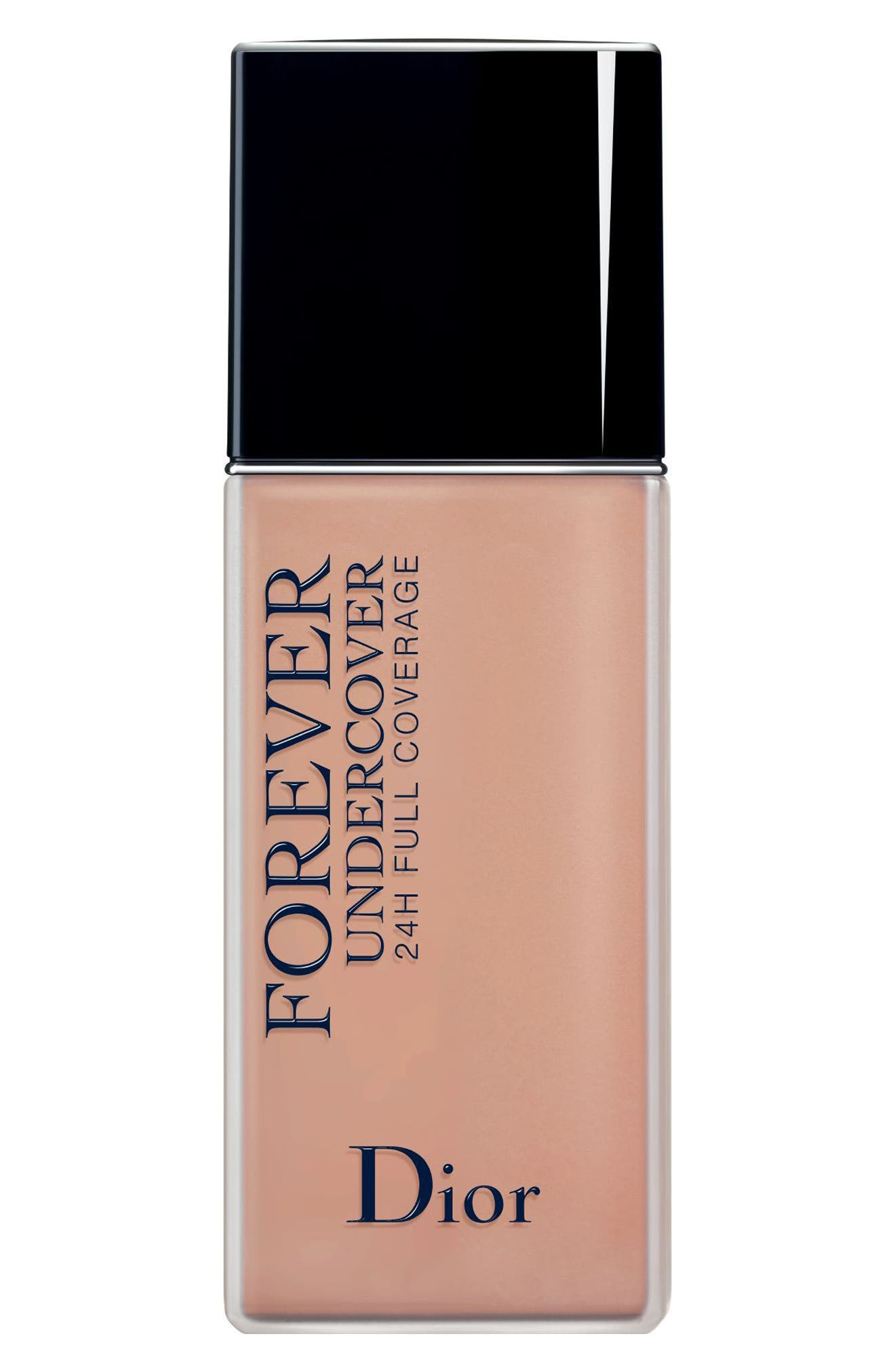 Dior Diorskin Forever Undercover 24-Hour Full Coverage Water-Based Foundation - 034 Almond Beige