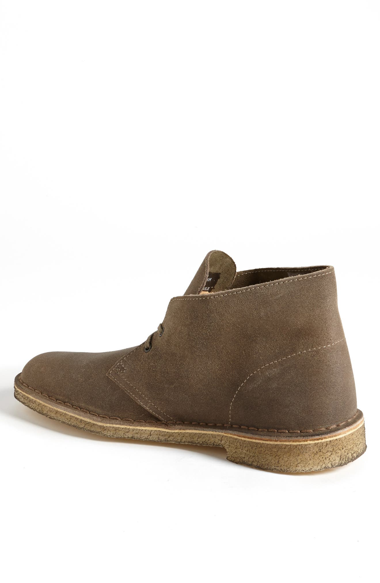 'Desert' Boot,                             Alternate thumbnail 3, color,                             TAUPE DISTRESSED SUEDE