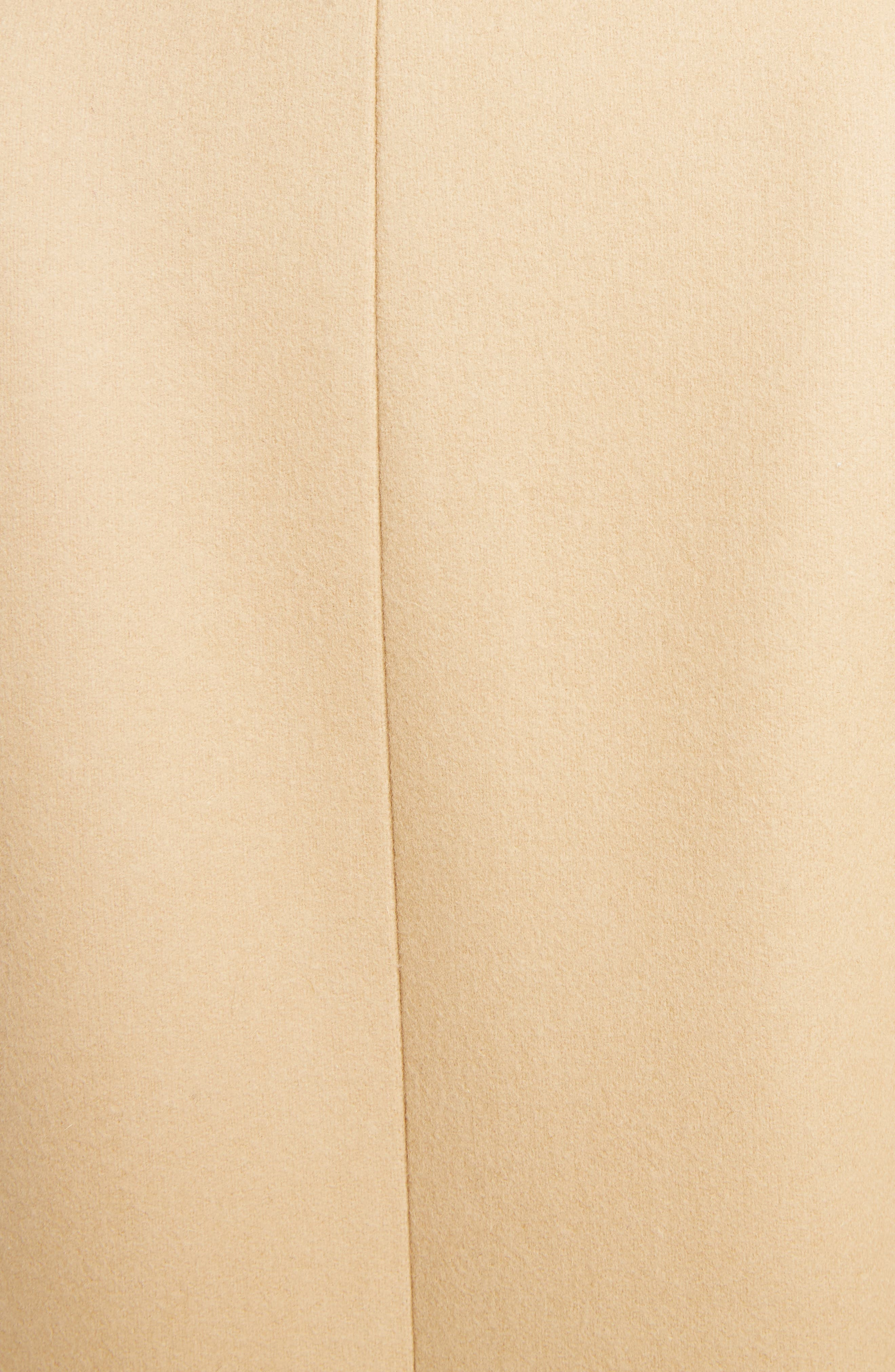 GIVENCHY,                             Double Breasted Wool Coat,                             Alternate thumbnail 5, color,                             250-BEIGE