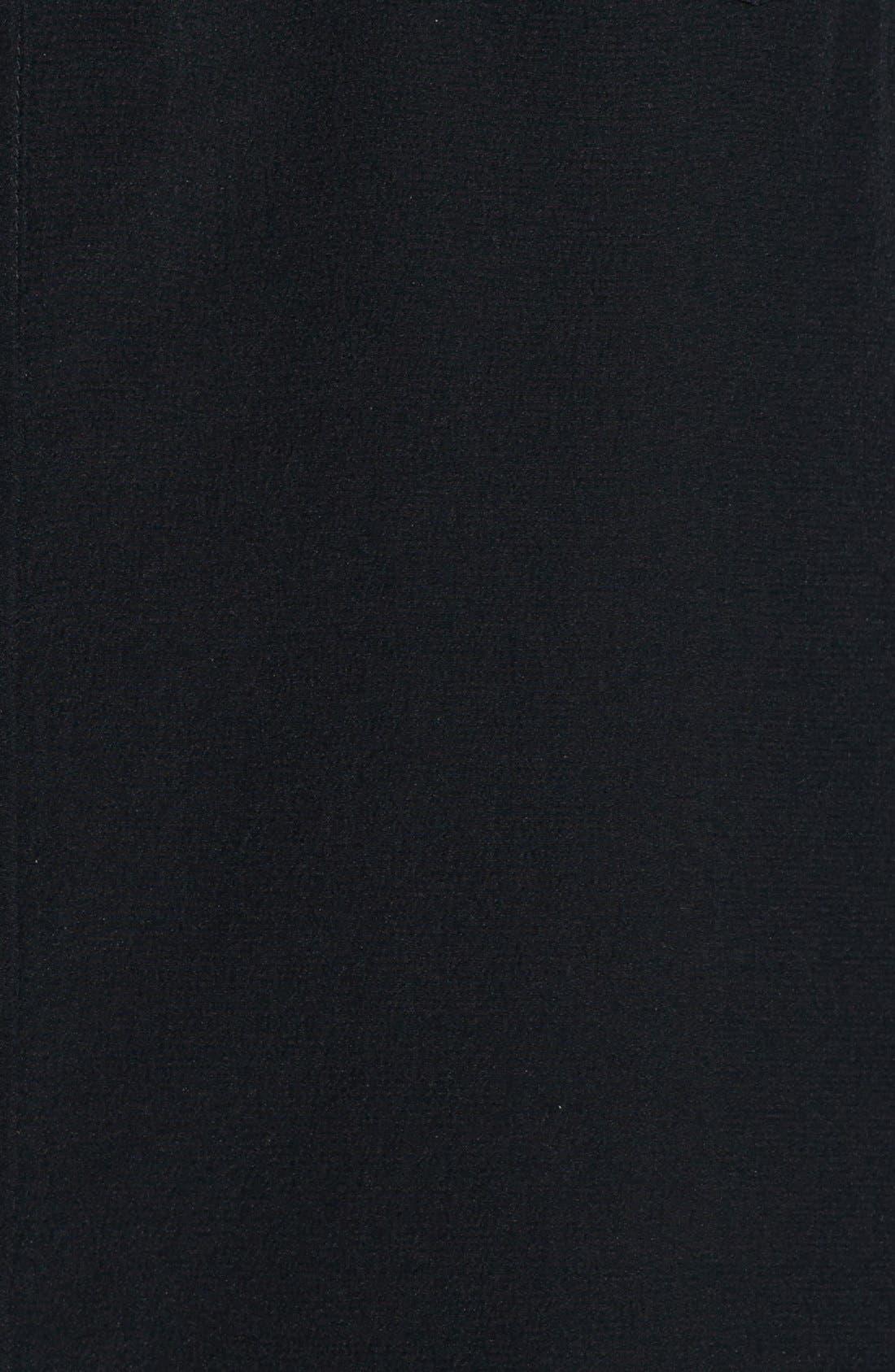 Collarless Silk Blouse,                             Alternate thumbnail 2, color,                             001