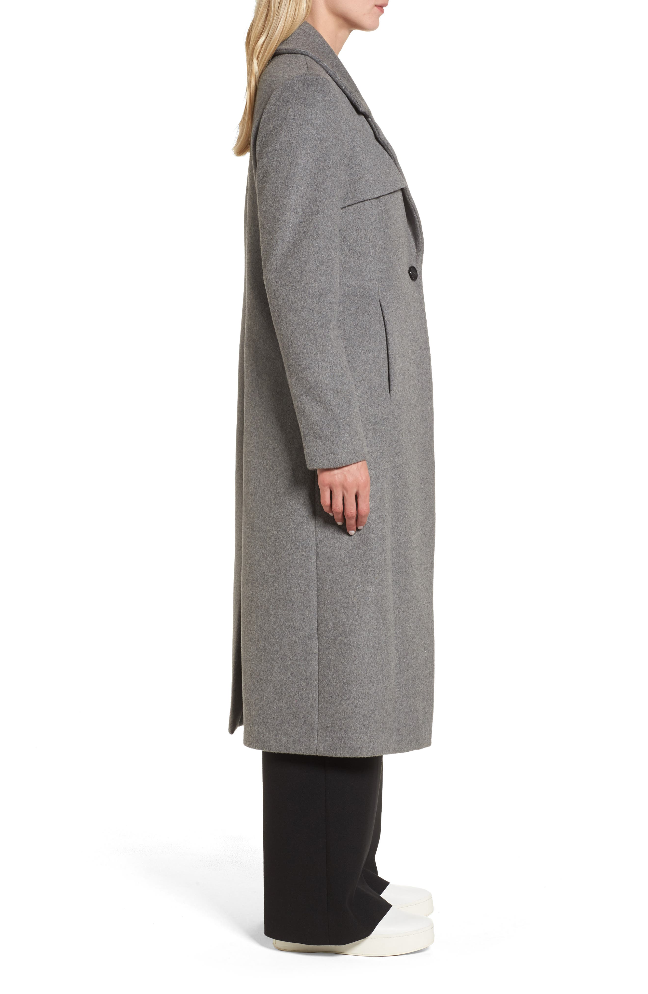 Long Coat,                             Alternate thumbnail 3, color,                             020