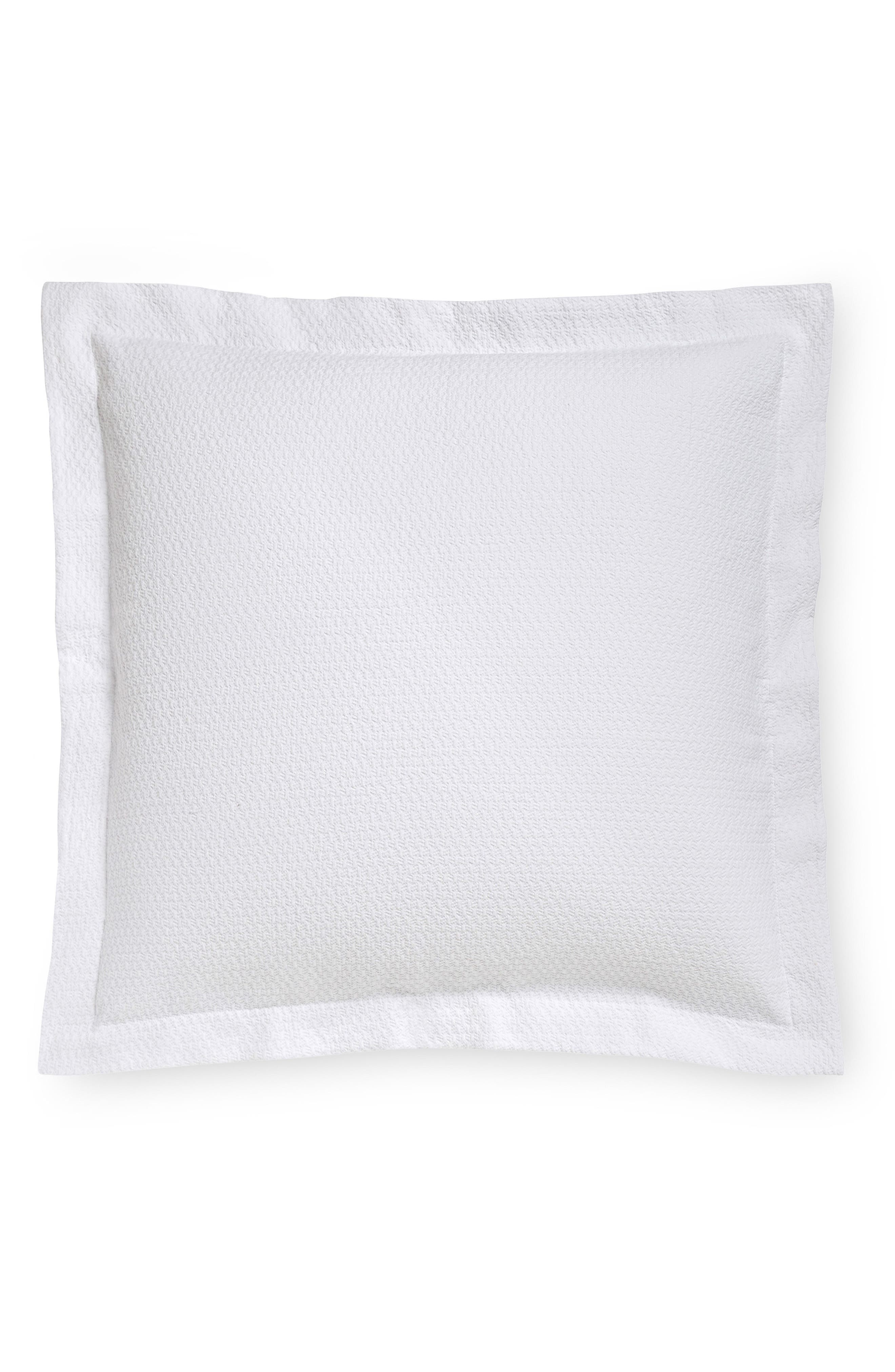 Merisso Euro Sham,                         Main,                         color, WHITE