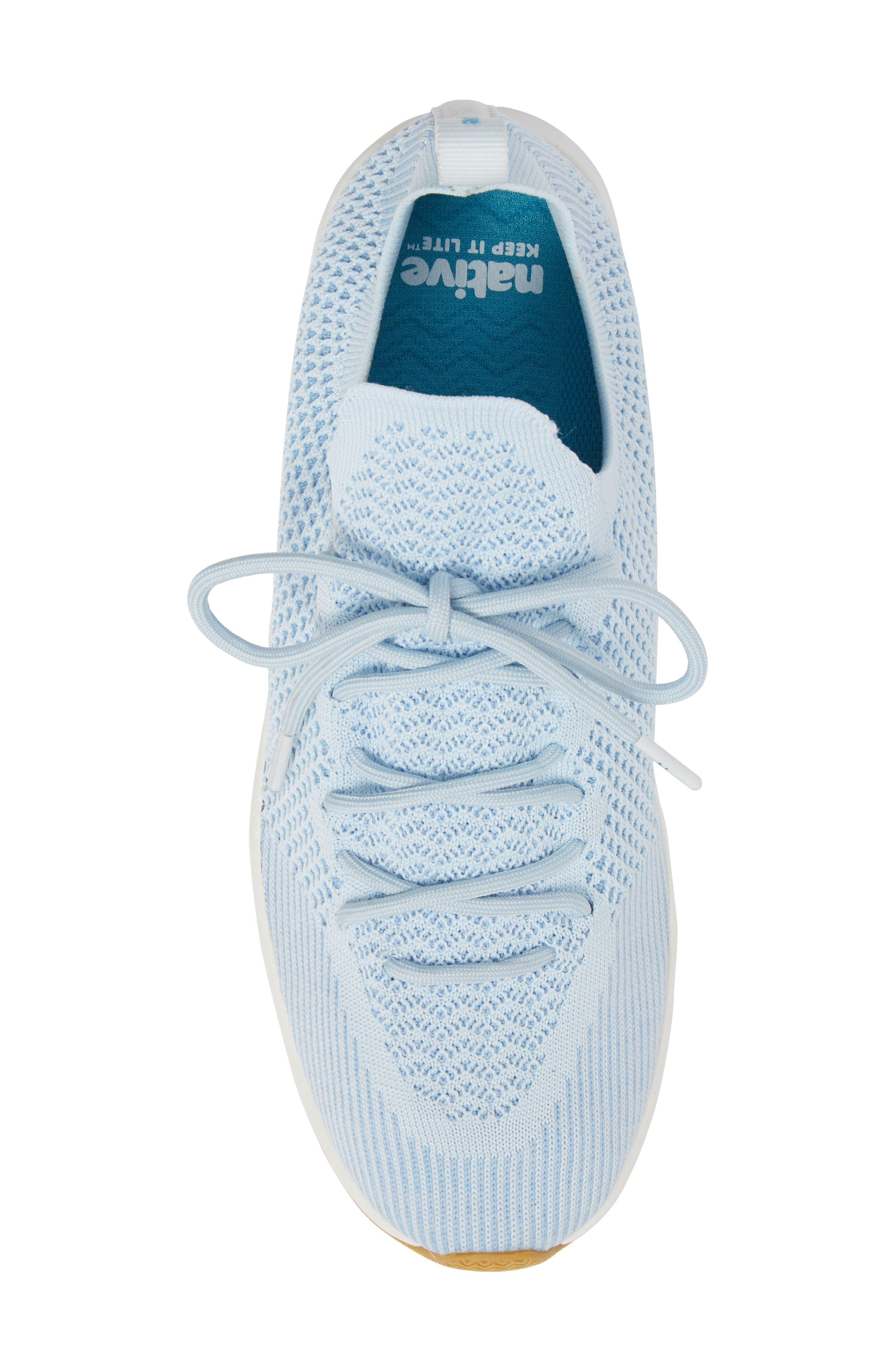 AP Mercury Liteknit<sup>™</sup> Sneaker,                             Alternate thumbnail 5, color,                             AIR BLUE/ SHELL WHITE