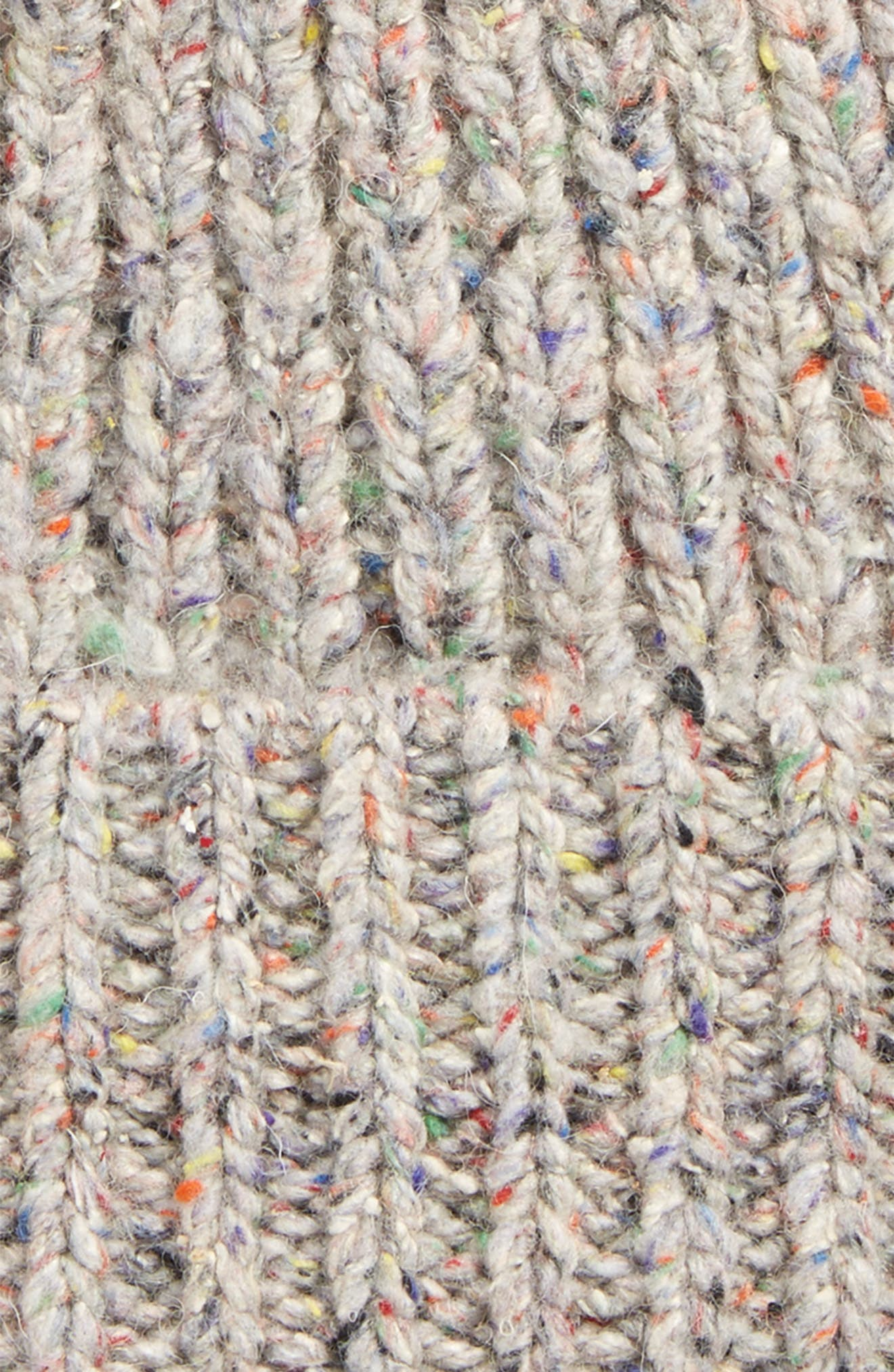 Ribbed Pompom Beanie,                             Alternate thumbnail 2, color,                             250