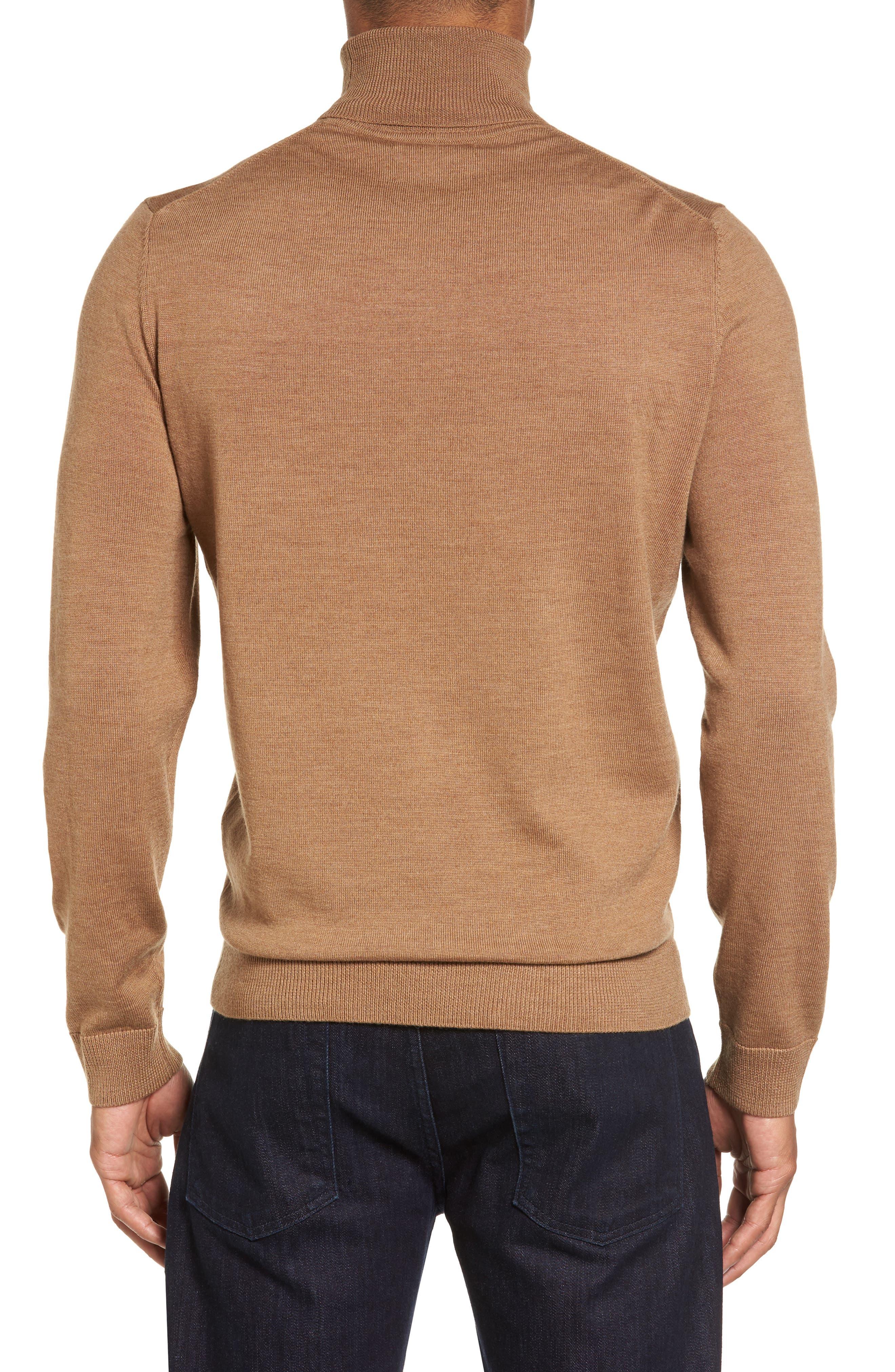 Merino Wool Turtleneck Sweater,                             Alternate thumbnail 10, color,