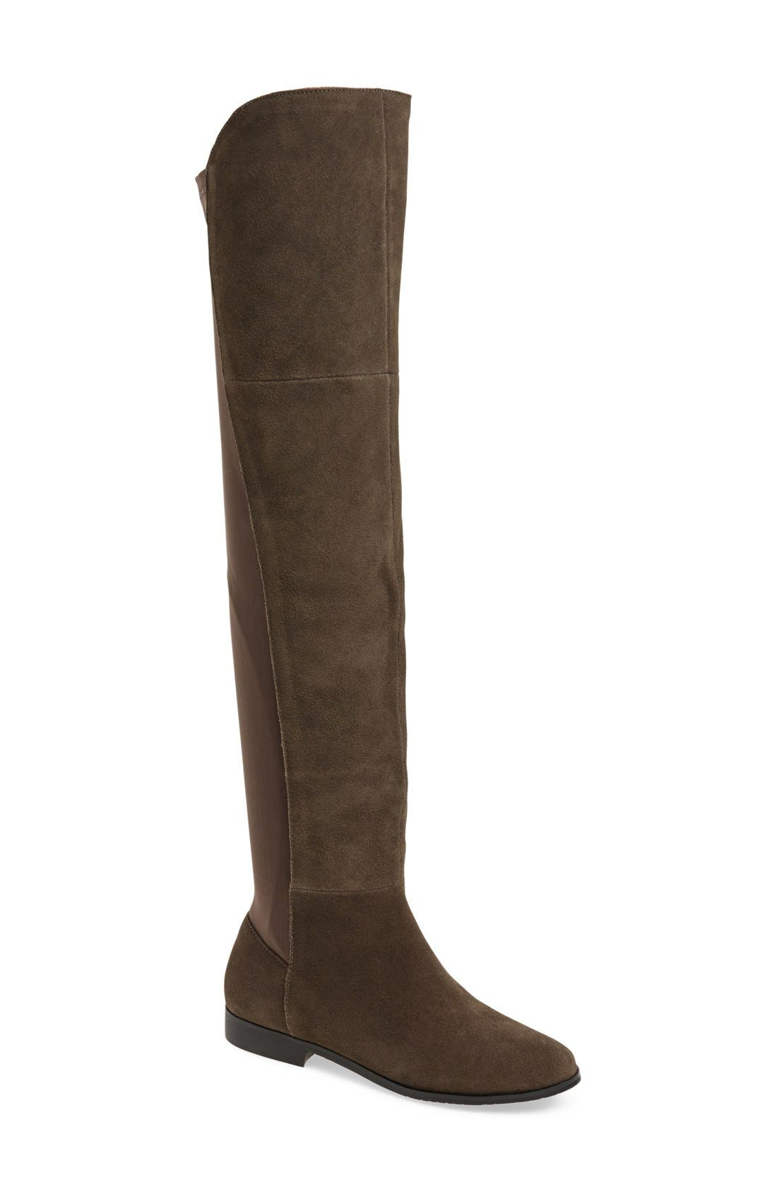 'Radiance' Over The Knee Boot,                             Main thumbnail 1, color,                             031