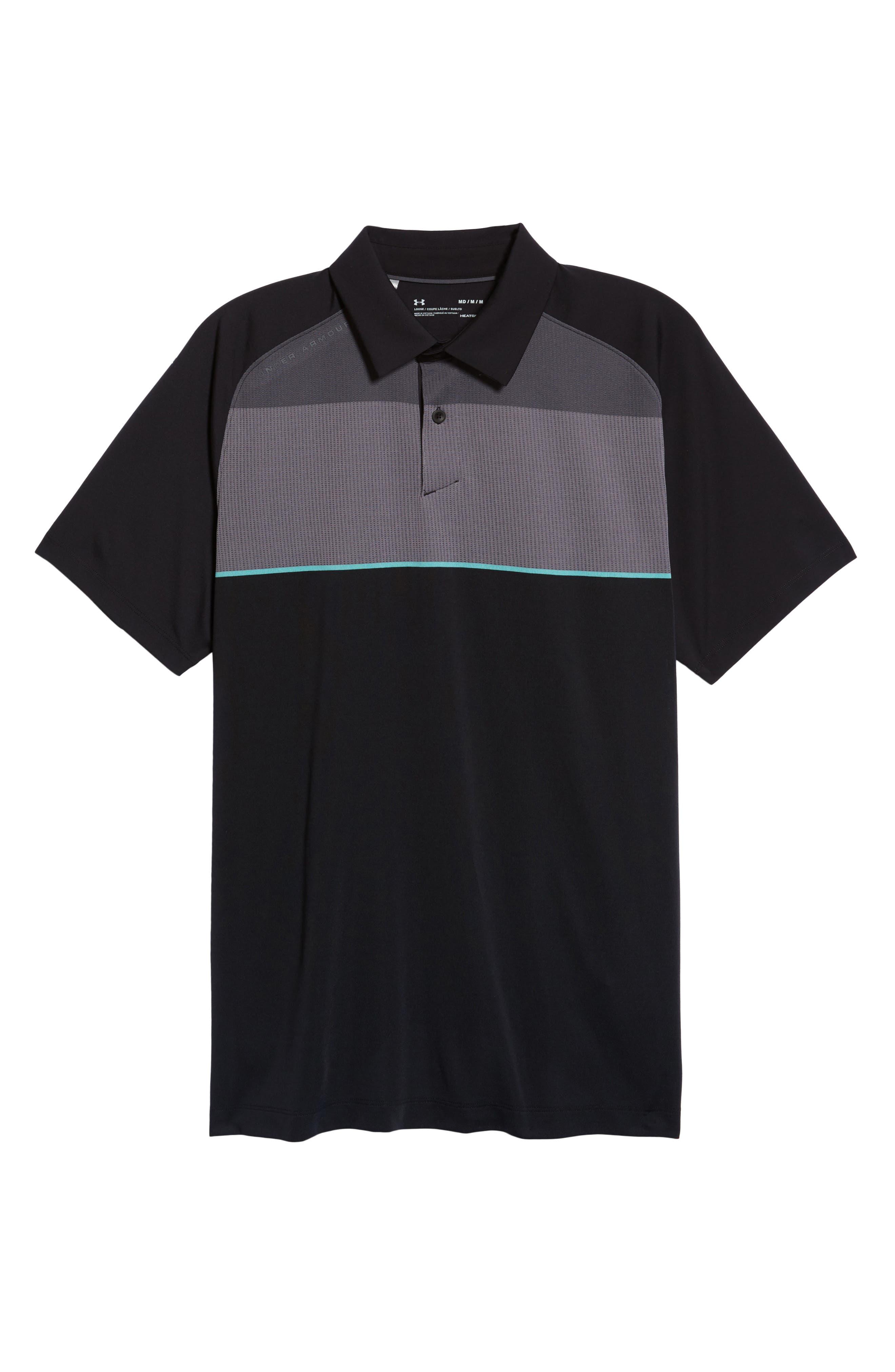 Threadborne Infinite Regular Fit Polo Shirt,                             Alternate thumbnail 6, color,                             001