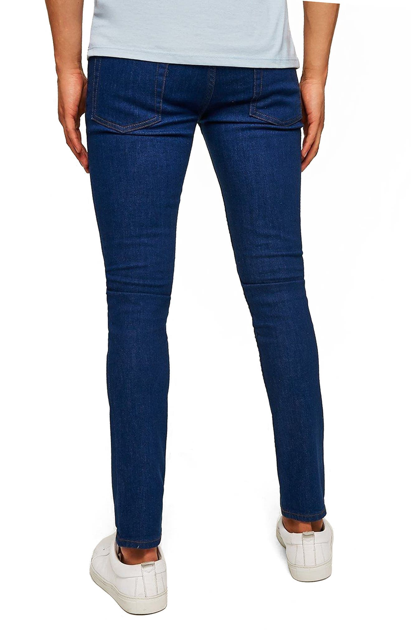 Stretch Skinny Fit Jeans,                             Alternate thumbnail 2, color,                             400