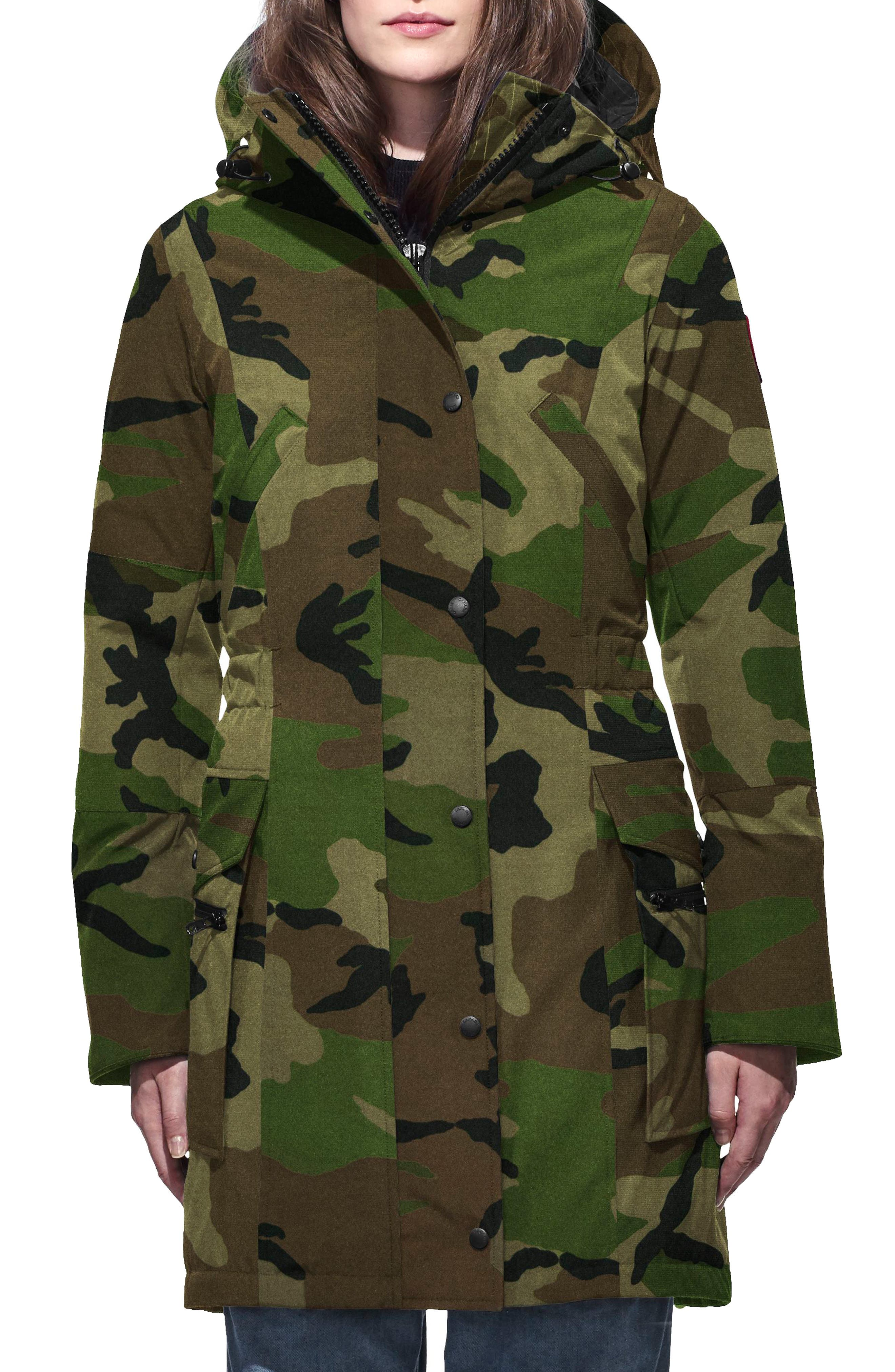 Kinley Insulated Parka,                         Main,                         color, CLASSIC CAMO