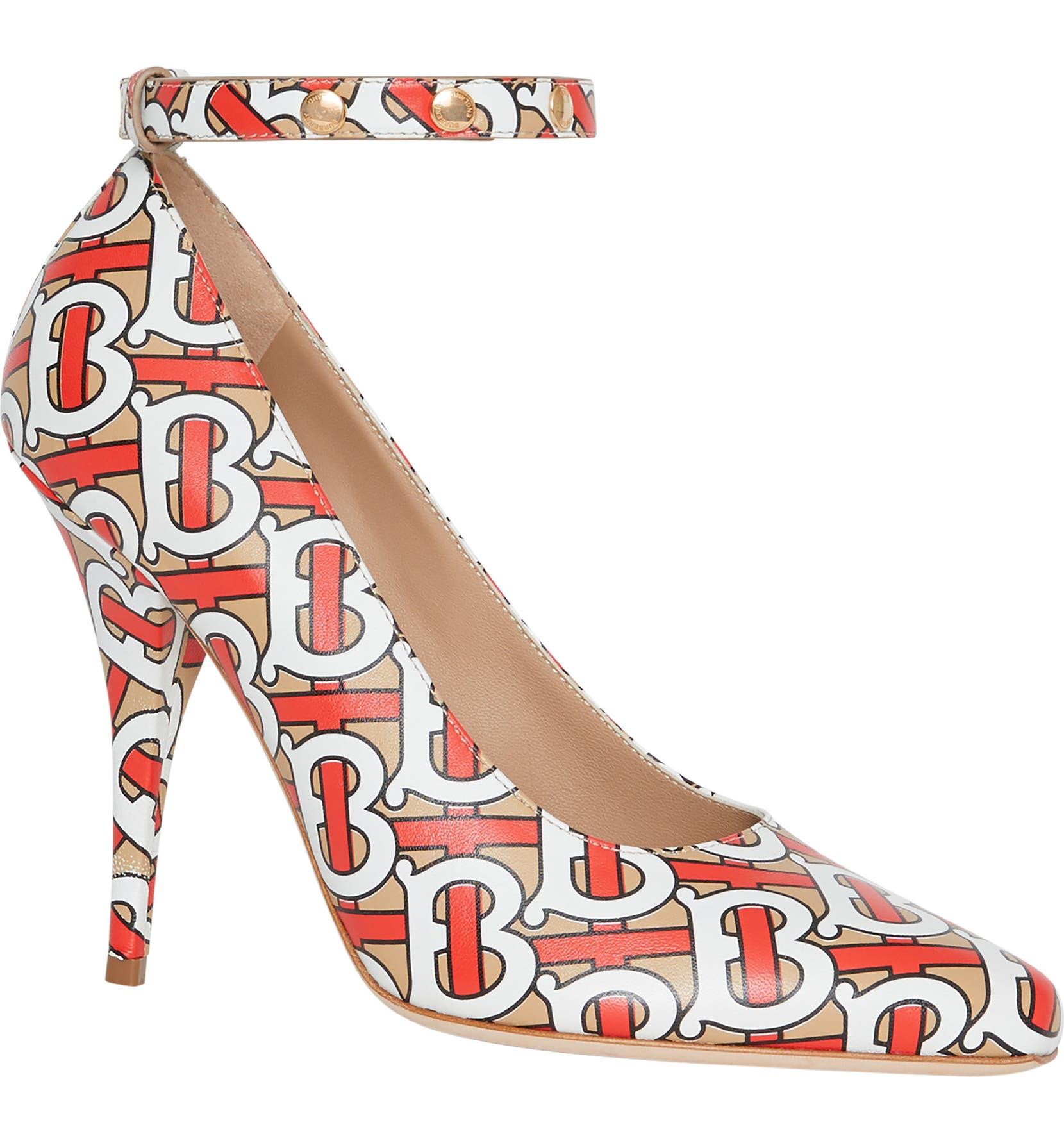 bc09b1e0010 Burberry Wiltkin Ankle Strap Pump (Women)