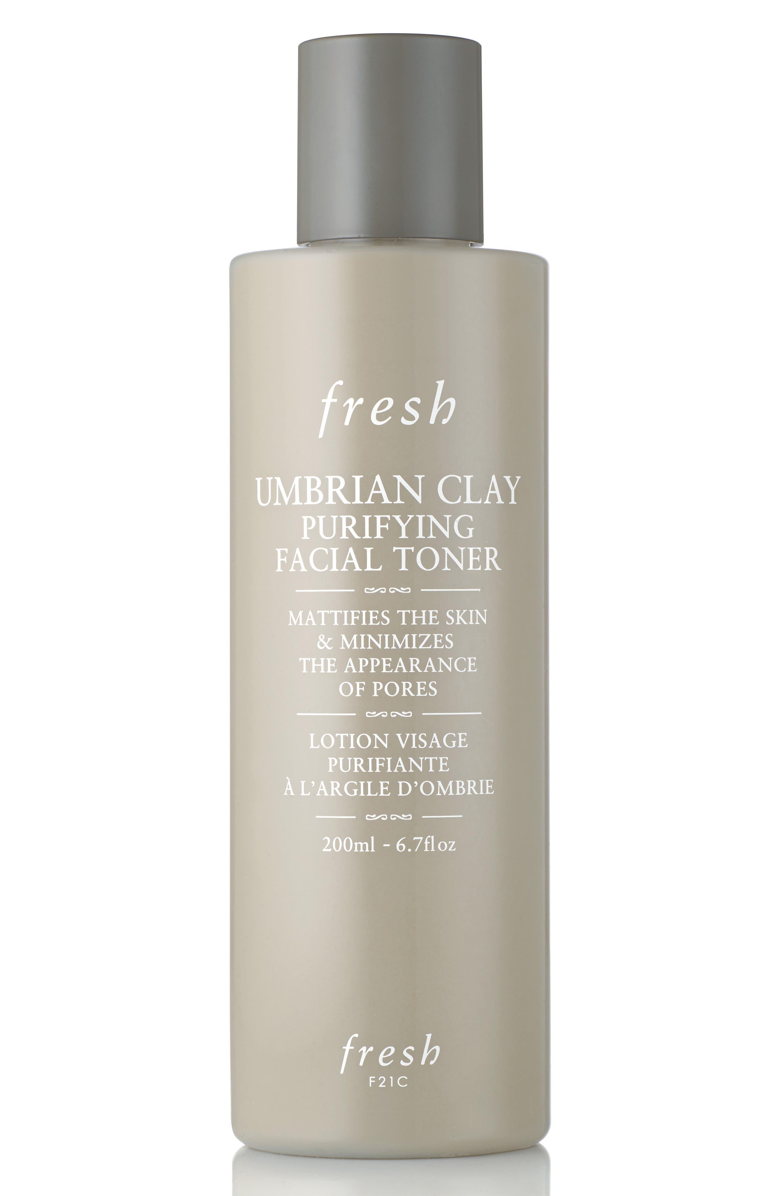 Umbrian Clay Purifying Facial Toner,                             Main thumbnail 1, color,                             000