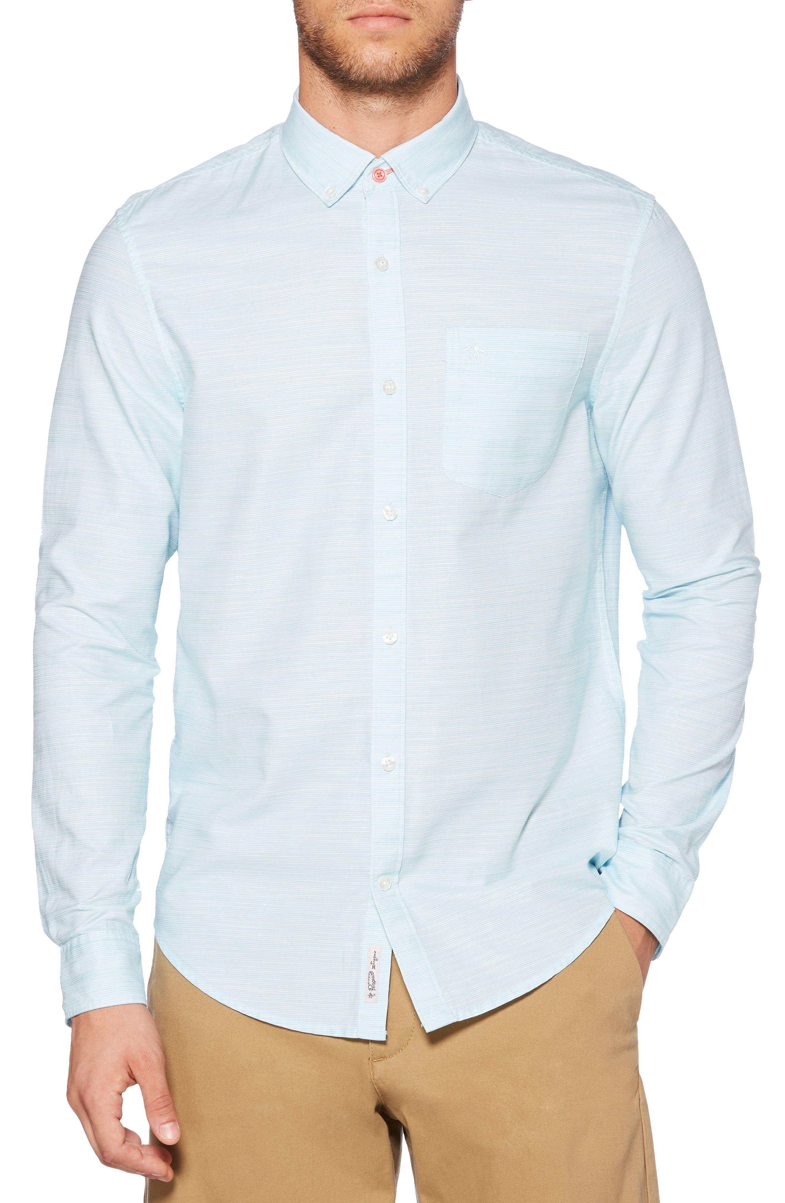 Mini Stripe Shirt,                             Main thumbnail 1, color,                             407