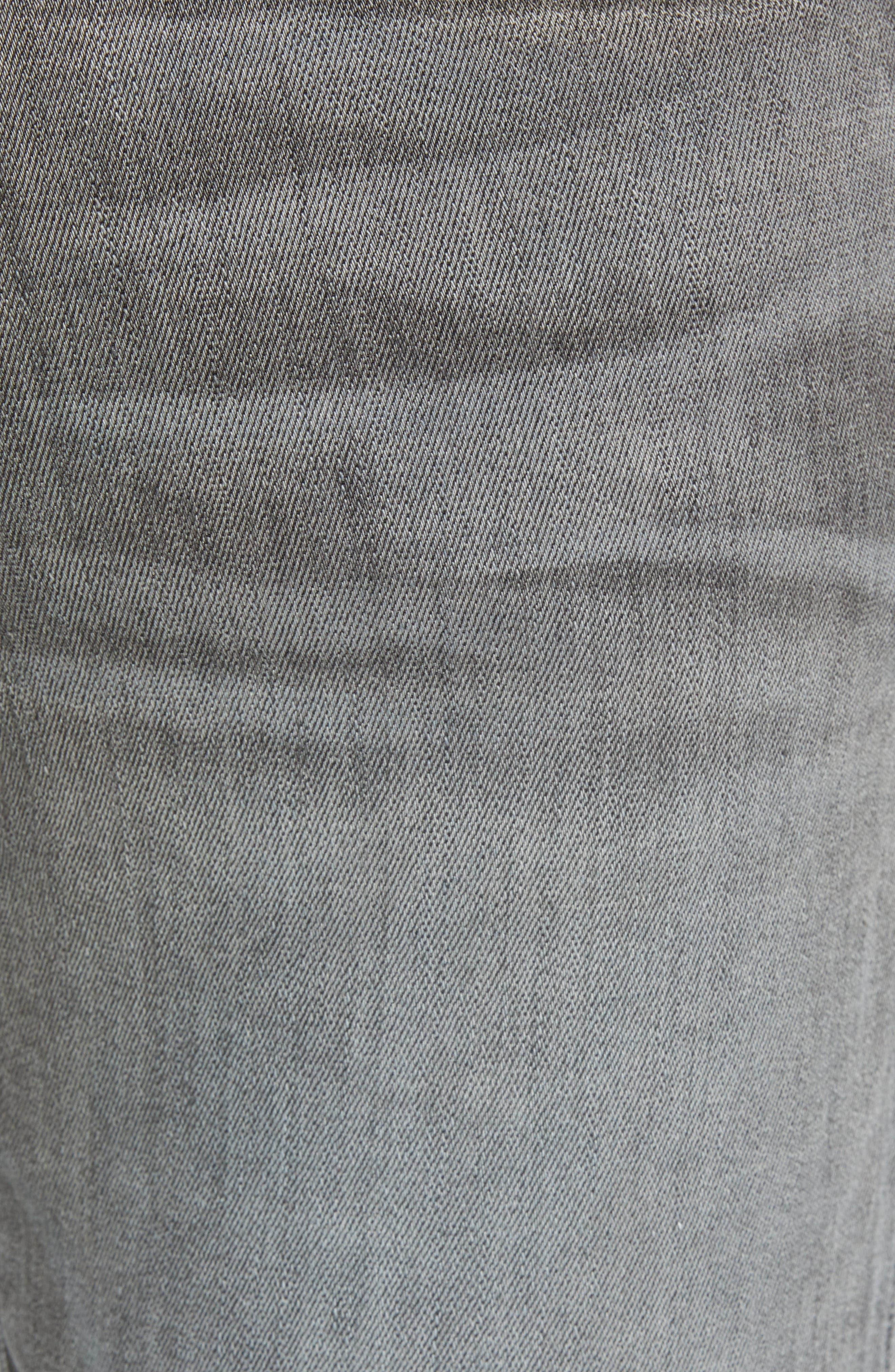 L'Homme Skinny Skinny Fit Jeans,                             Alternate thumbnail 5, color,                             FORT MCHEN