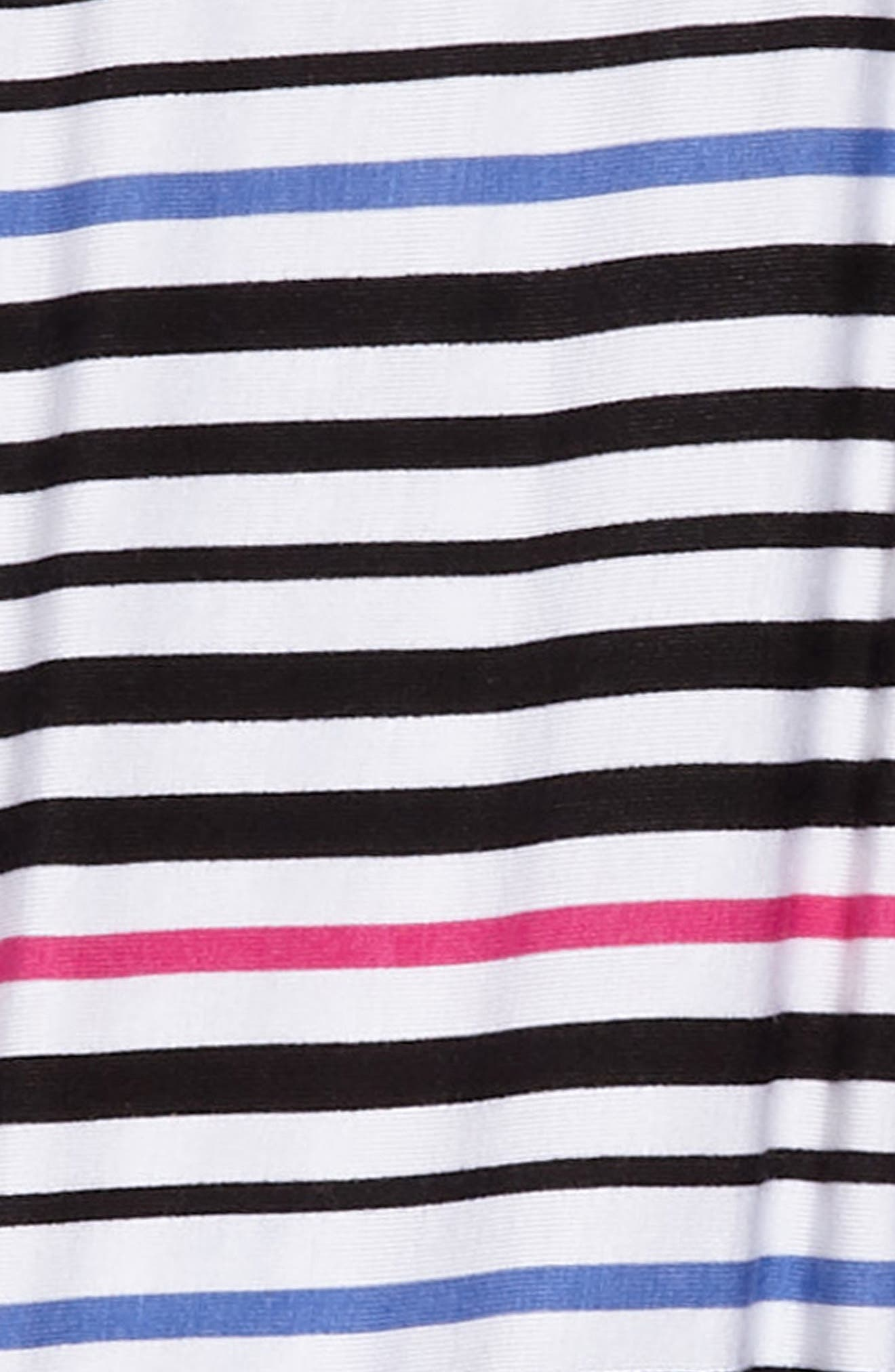 Stripe Dress,                             Alternate thumbnail 3, color,                             100