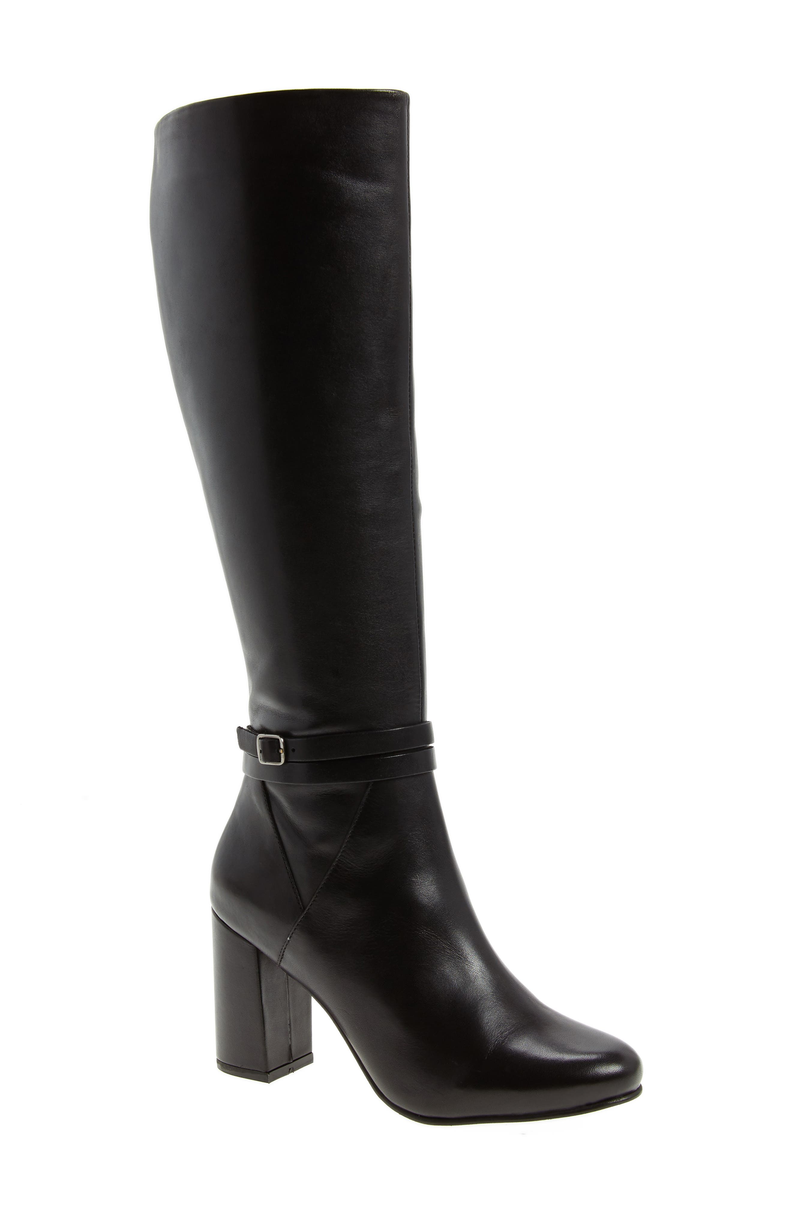 Ovation Knee High Boot,                             Main thumbnail 1, color,                             001