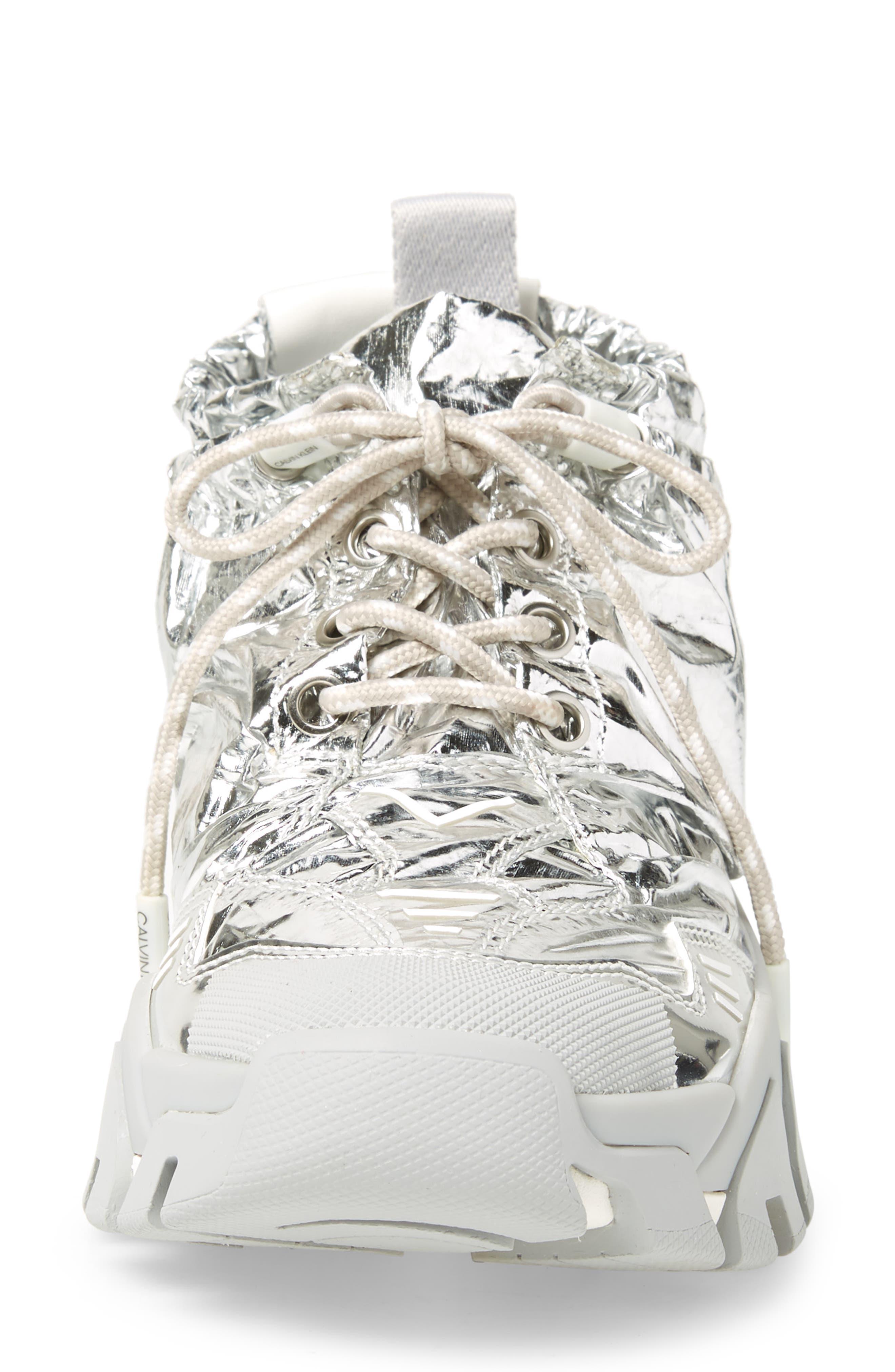 Caramene Sneaker,                             Alternate thumbnail 4, color,                             GREY/ WHITE