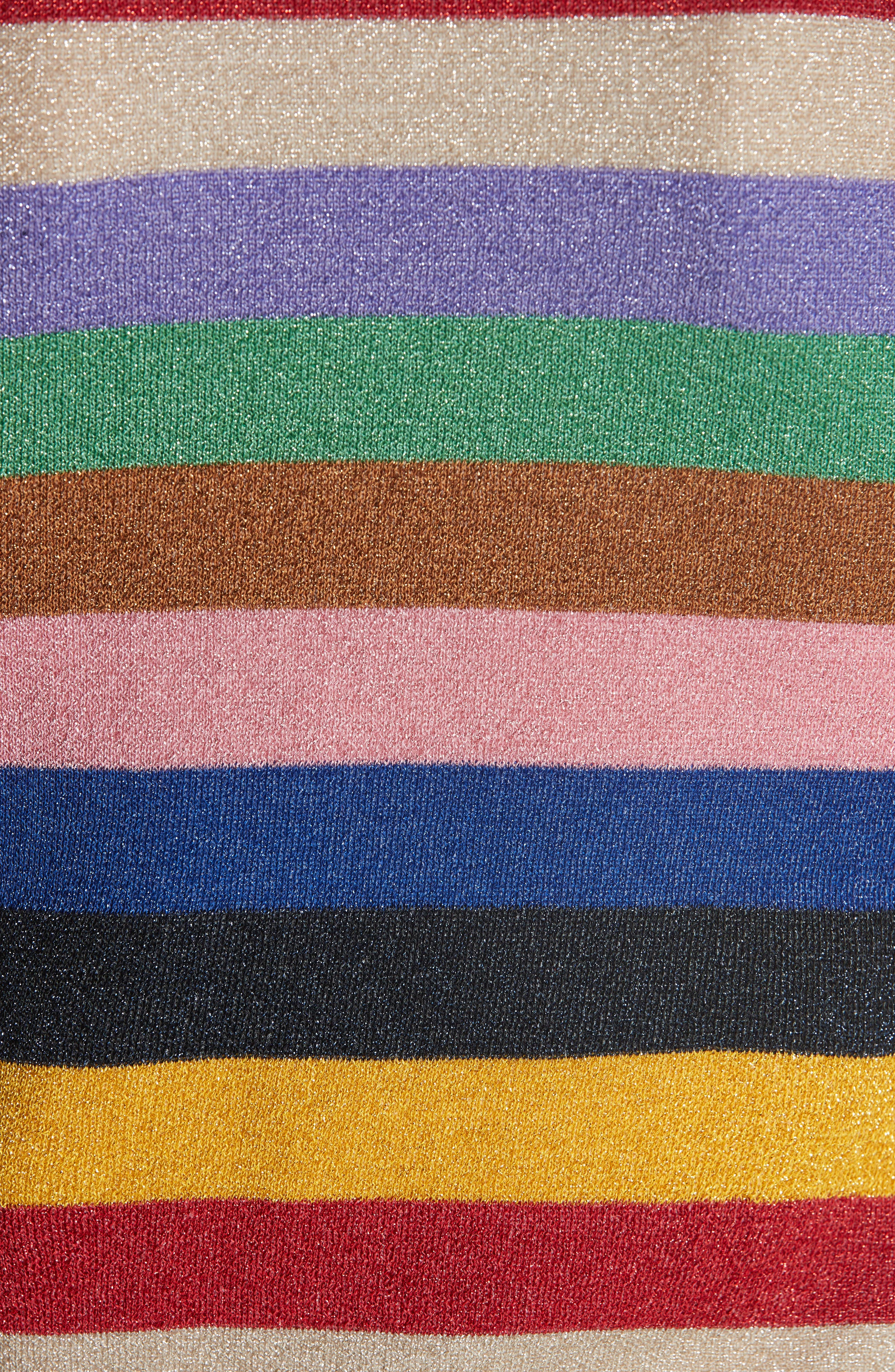 Baylor Stripe Top,                             Alternate thumbnail 5, color,                             505