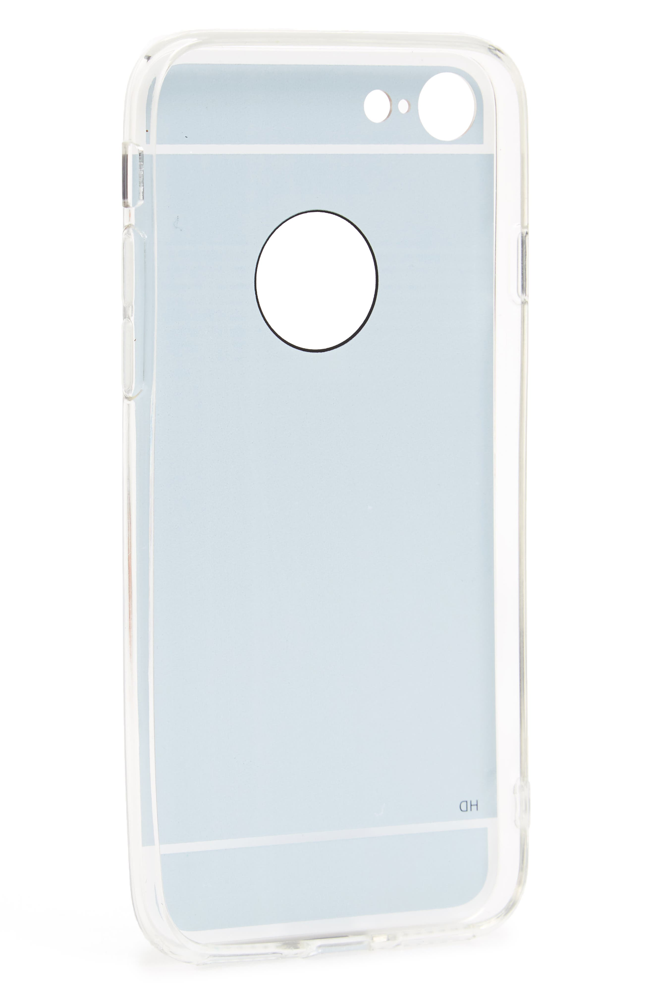 Mirrored iPhone 7 Case,                             Alternate thumbnail 2, color,                             710